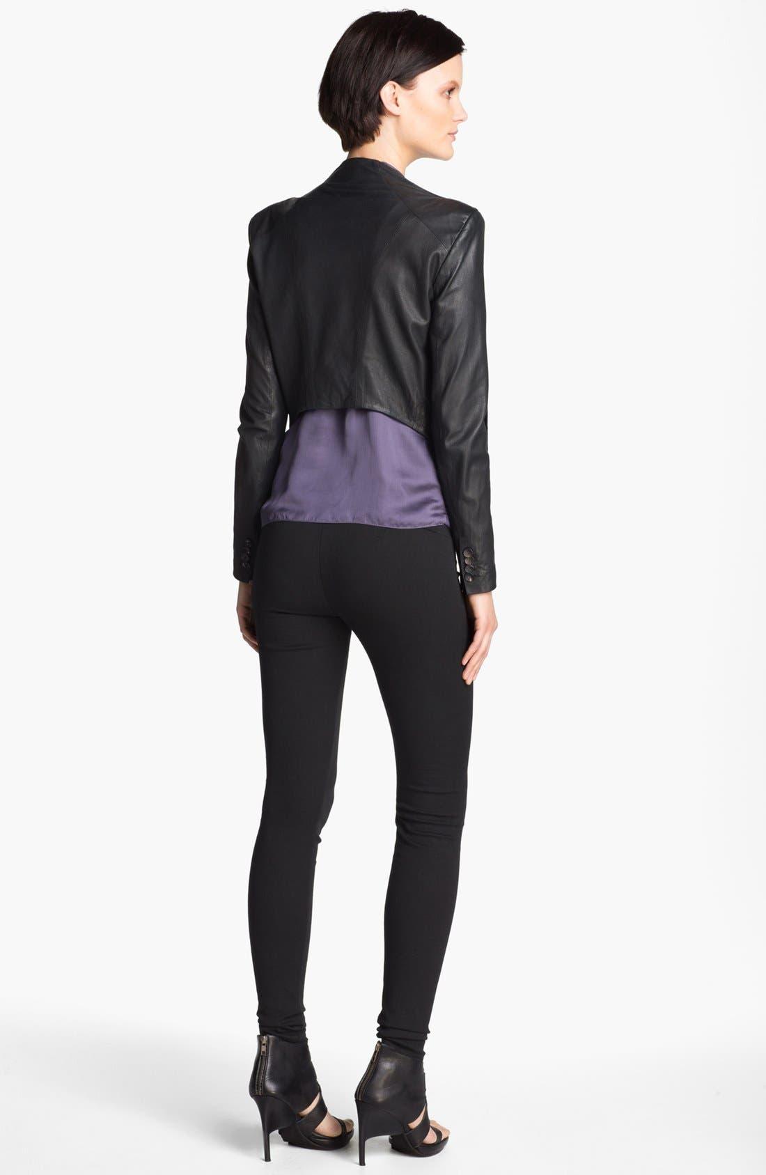 Alternate Image 5  - HELMUT Helmut Lang Washed Leather Jacket