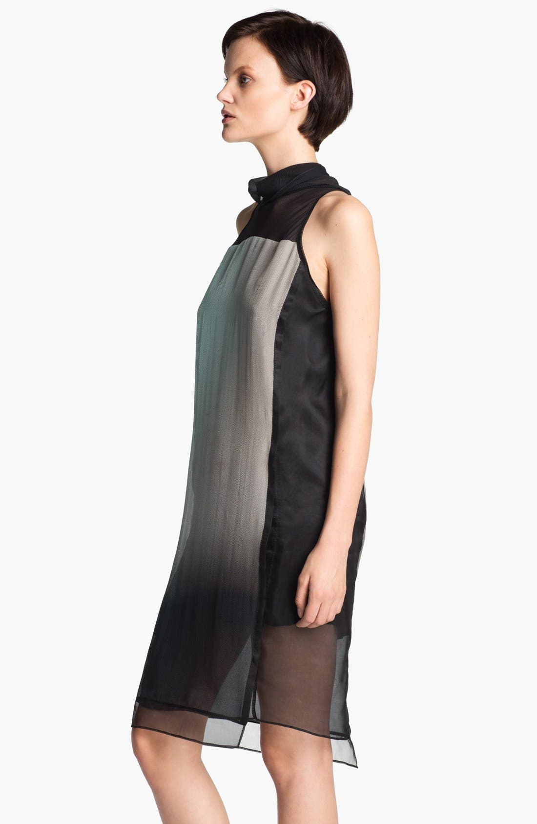 Alternate Image 3  - Helmut Lang 'Mercury' Ombré Organza Dress