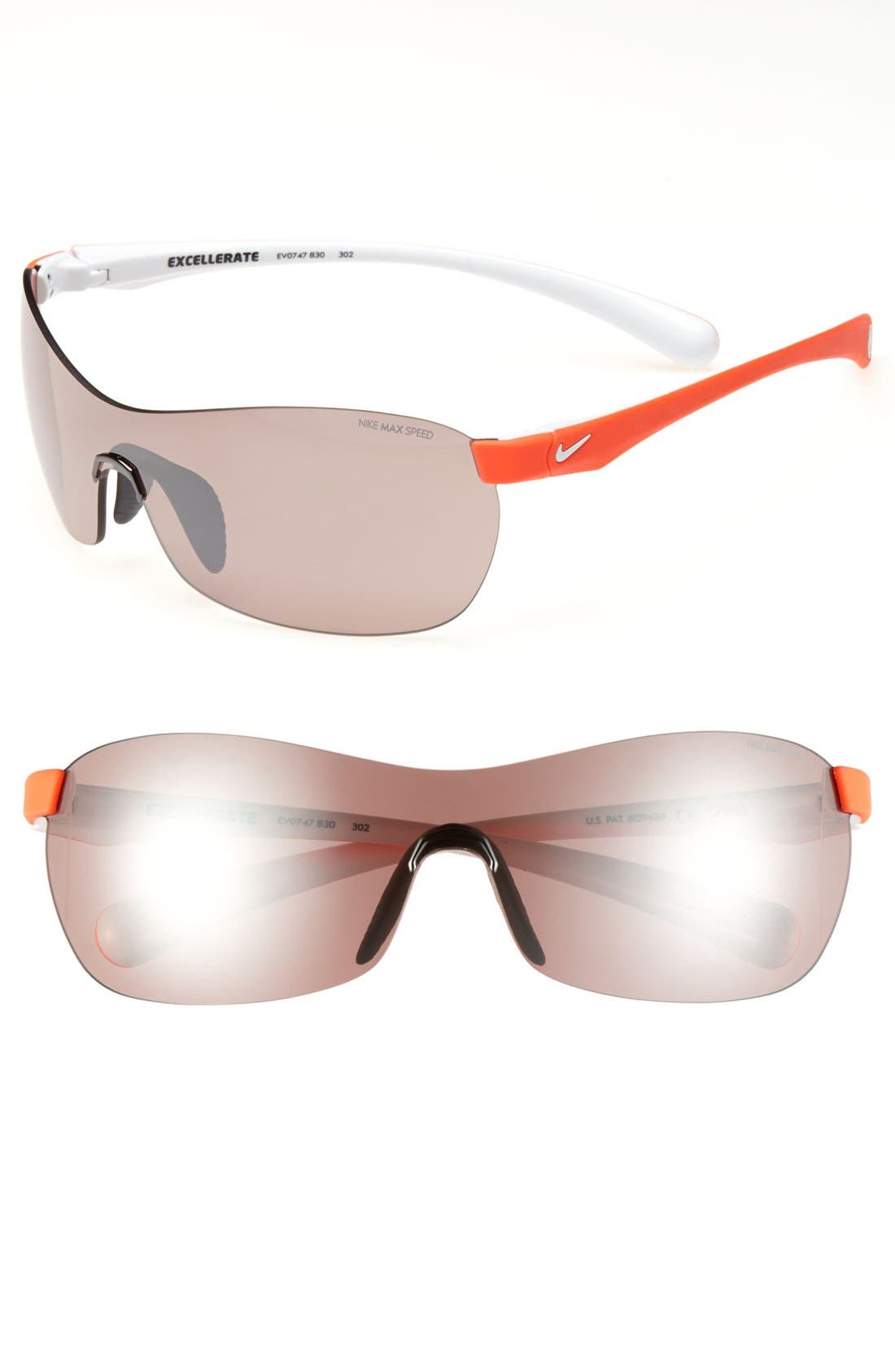 Main Image - Nike 'Excellerate' 62mm Polarized Sunglasses