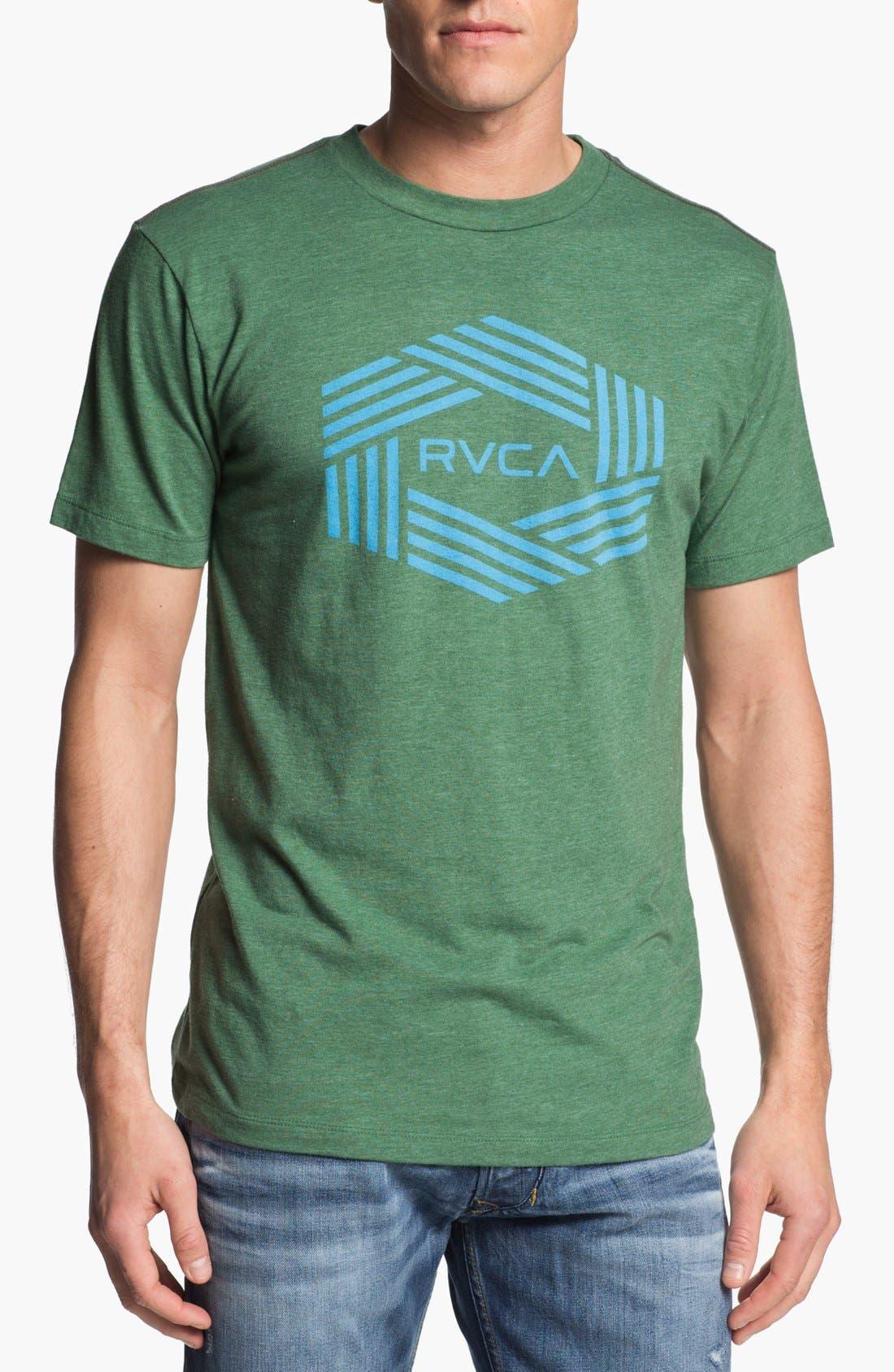 Main Image - RVCA 'Bar Hex' Graphic T-Shirt