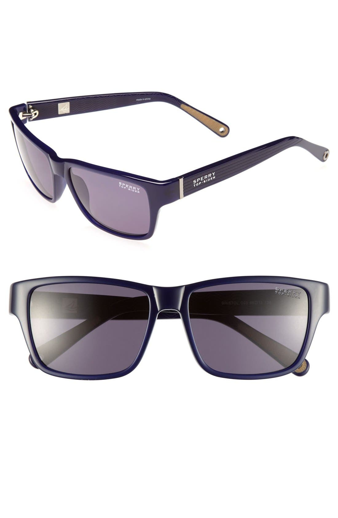 Main Image - Sperry Top-Sider® 'Bristol' 56mm Sunglasses (Online Only)