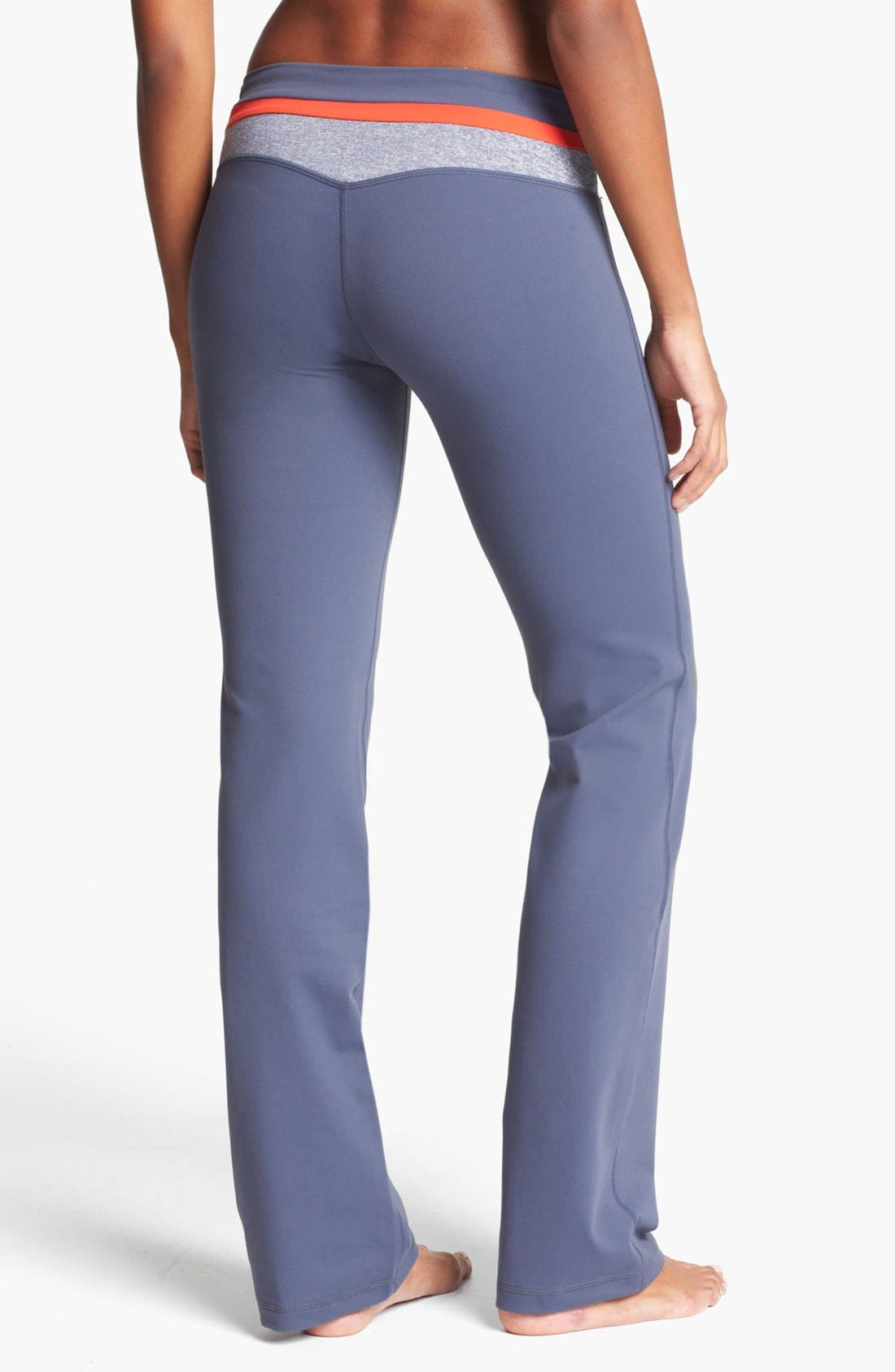 Alternate Image 2  - Zella 'Booty' Colorblock Waist Pants