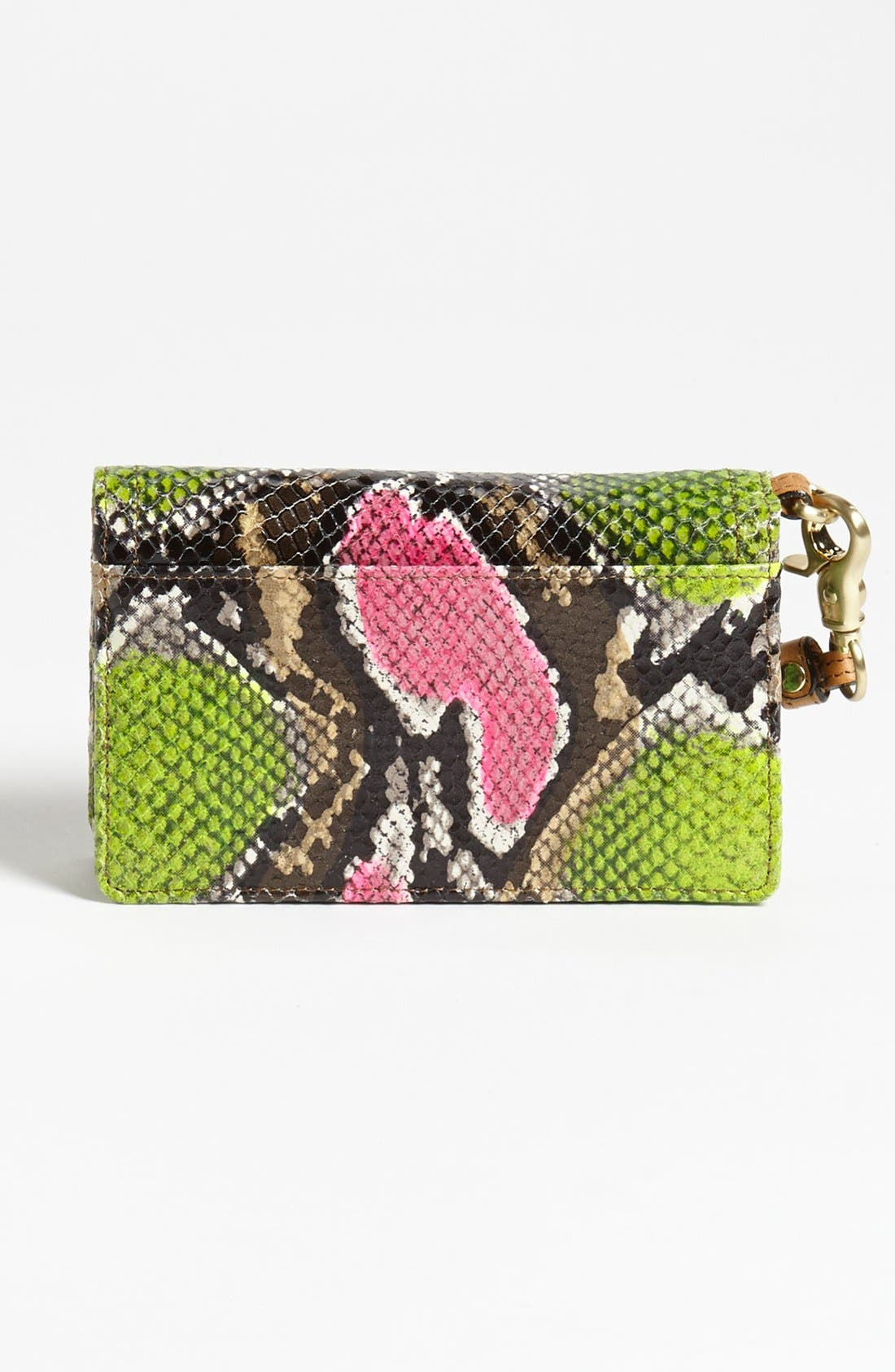 Alternate Image 4  - Brahmin 'Debi' Anaconda Embossed Leather Wristlet