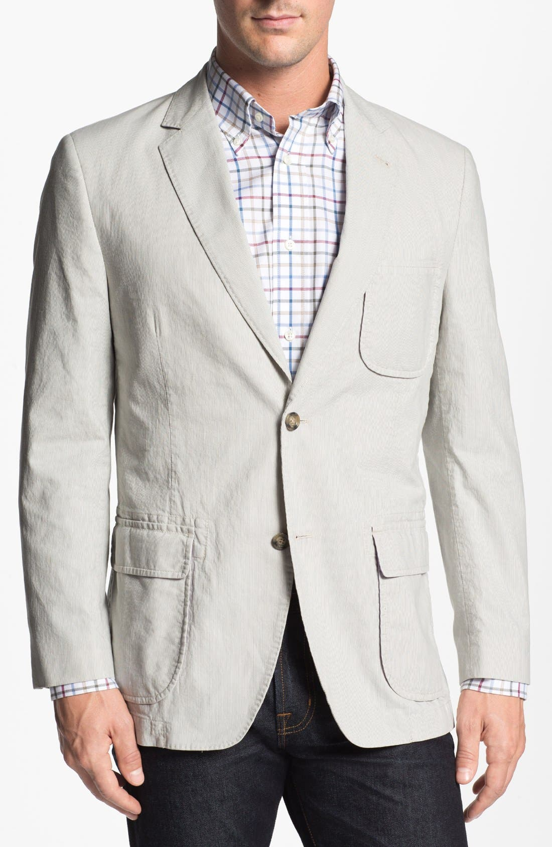 Alternate Image 1 Selected - Kroon 'Harrison' Cotton Blend Sportcoat