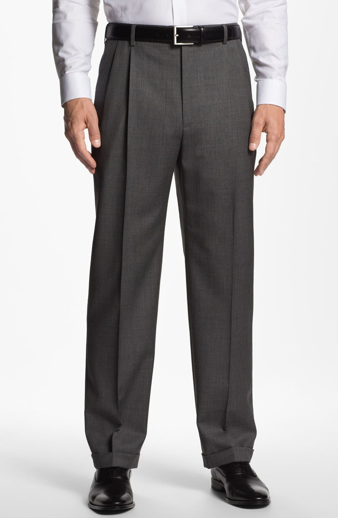 Alternate Image 1 Selected - Zanella 'Bennett' Pleated Trousers