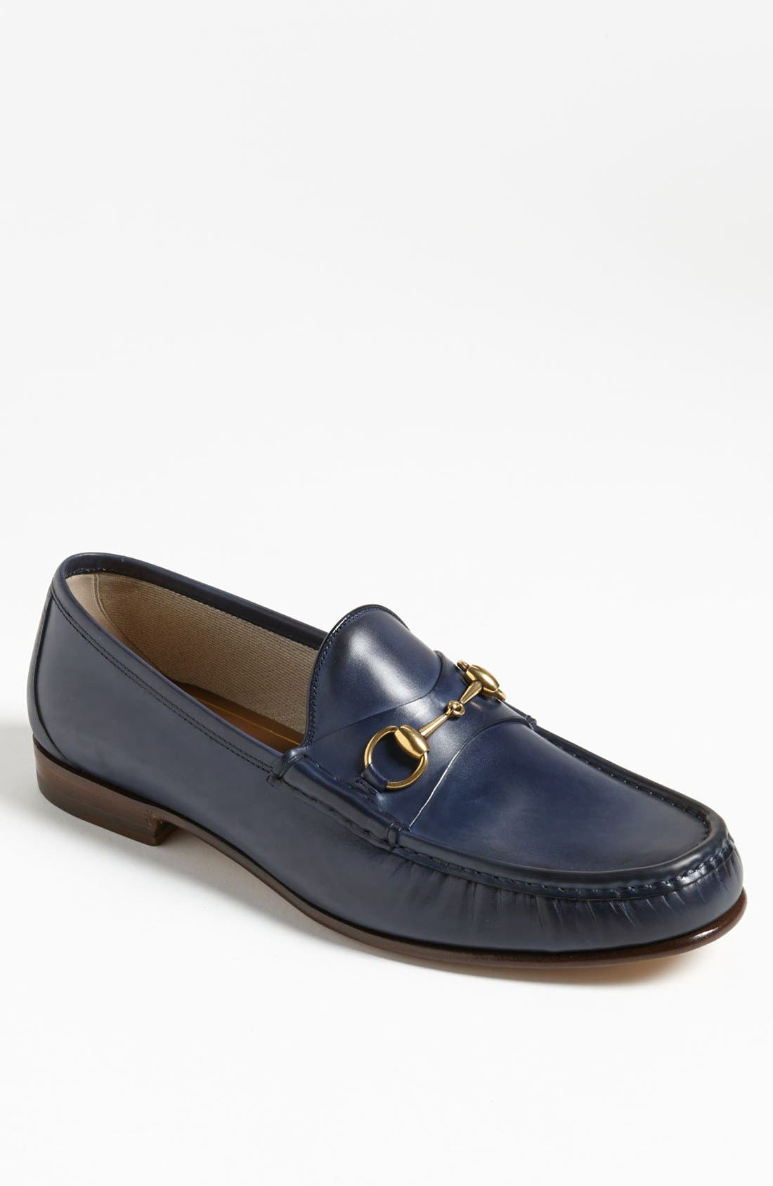 Alternate Image 1 Selected - Gucci 'Roos' Bit Loafer