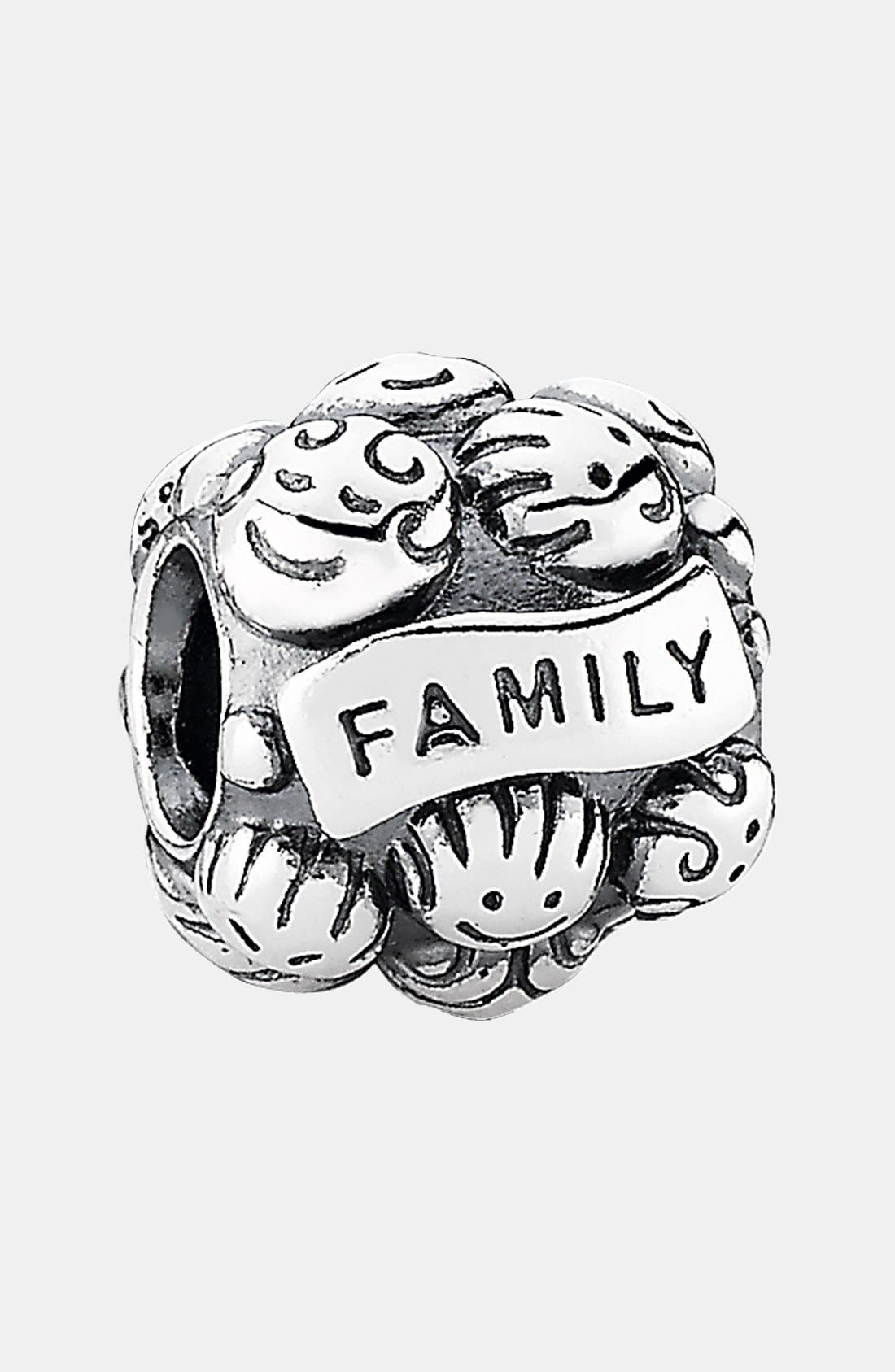 Alternate Image 1 Selected - PANDORA 'Love & Family' Charm