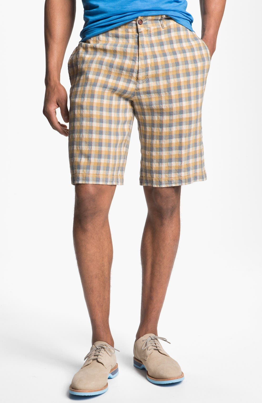 Alternate Image 1 Selected - Tommy Bahama 'Art Checko' Shorts