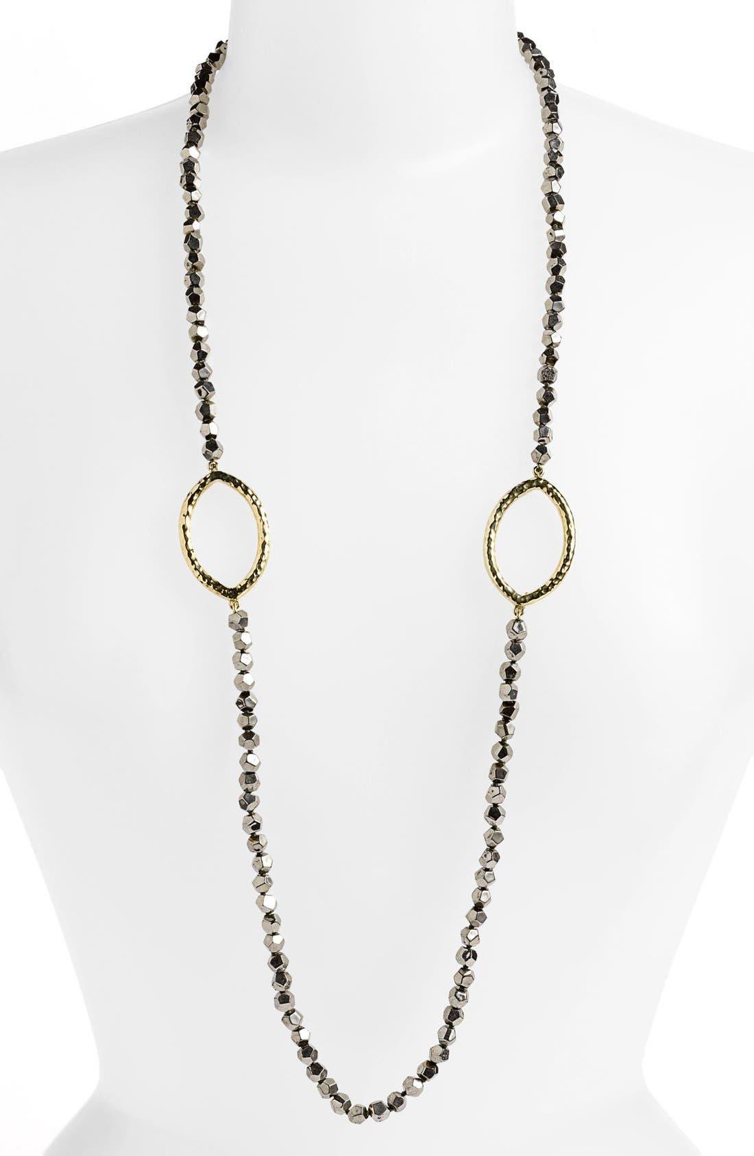 Main Image - Simon Sebbag Long Faceted Stone Necklace