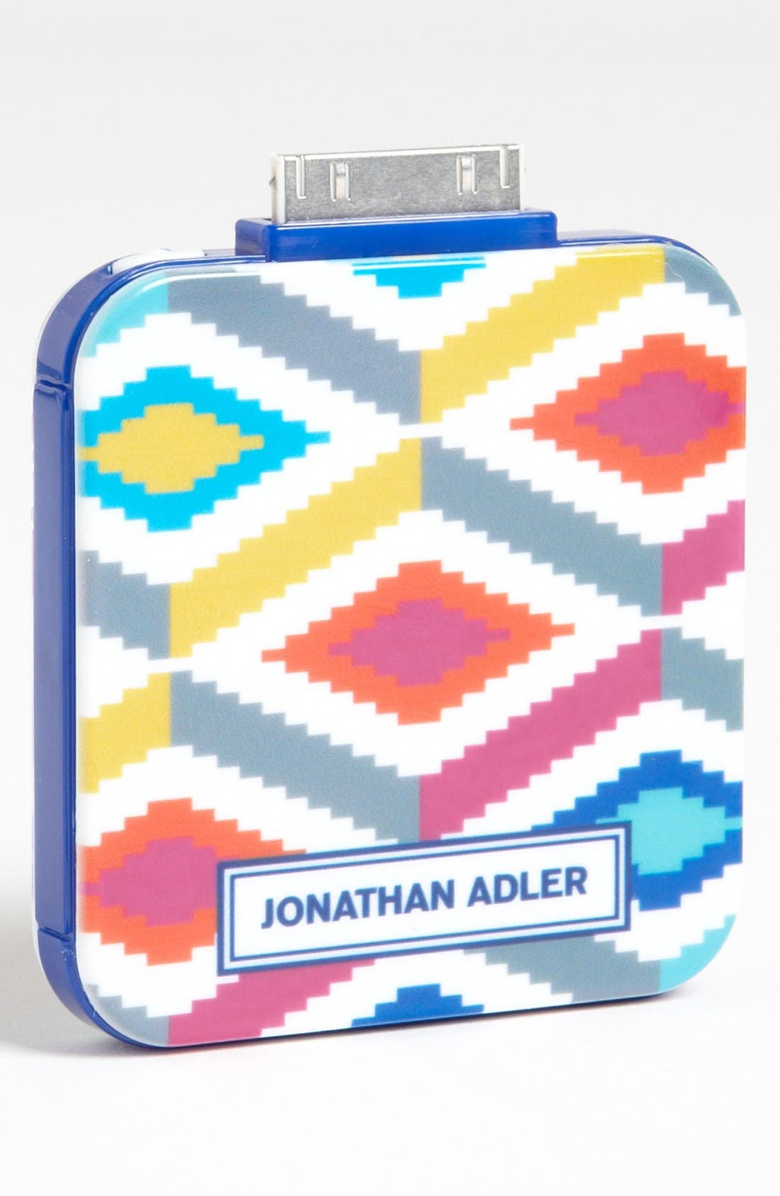 Alternate Image 1 Selected - Jonathan Adler 'Stepped Diamonds - On the Go' iPhone & iPod Charger