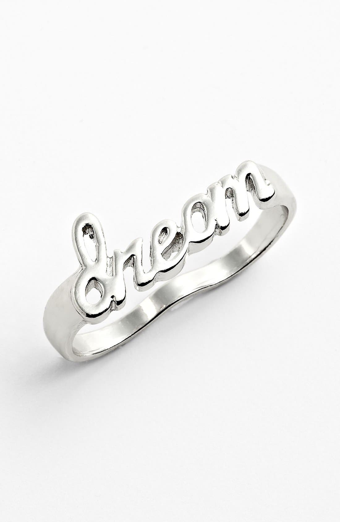 Alternate Image 1 Selected - Jessica Simpson 'Dream' Double Finger Ring