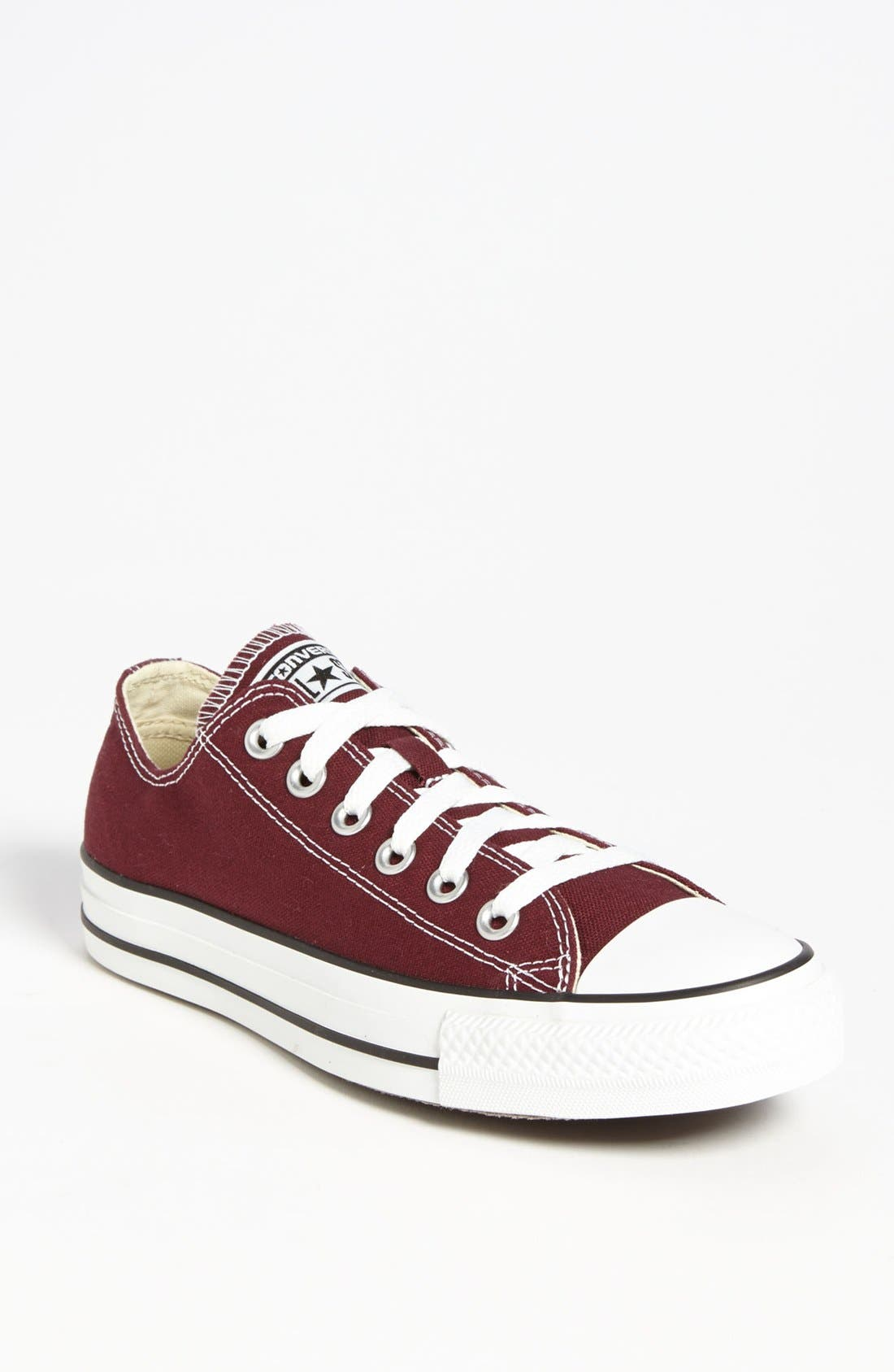 Chuck Taylor<sup>®</sup> All Star<sup>®</sup> Sneaker,                         Main,                         color, Burgundy