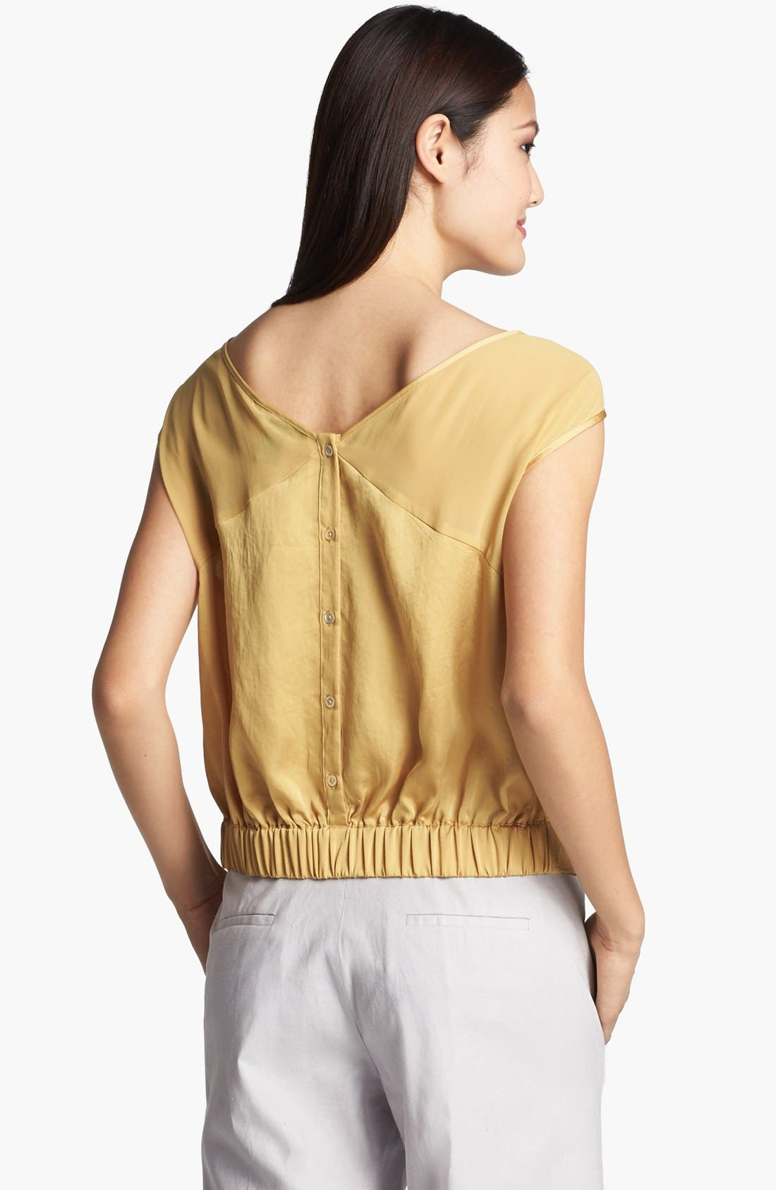 Alternate Image 2  - Kenneth Cole New York 'Sandra' Tie Front Blouse