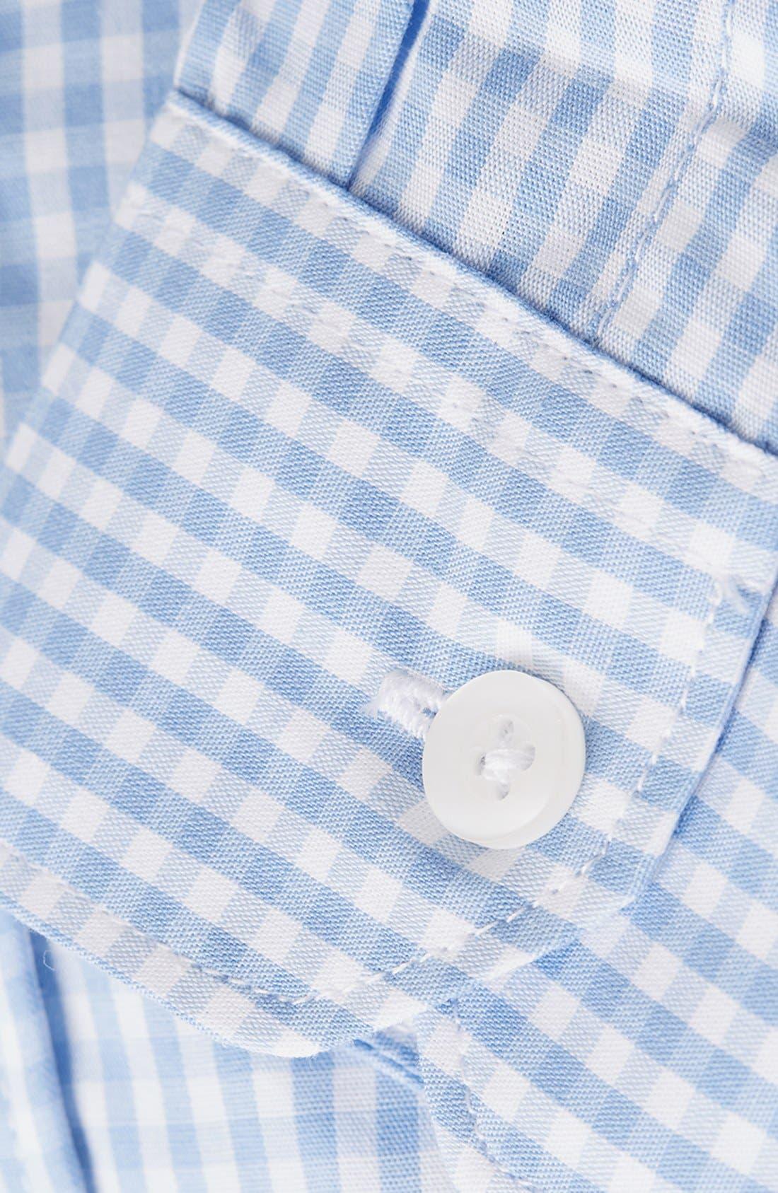Alternate Image 3  - Topman Gingham Shirt