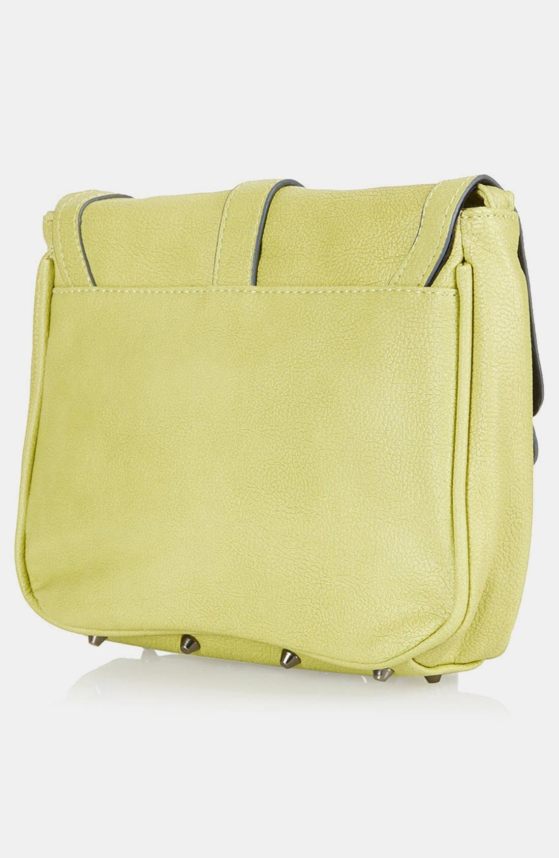 Alternate Image 2  - Topshop Clip Front Crossbody Bag