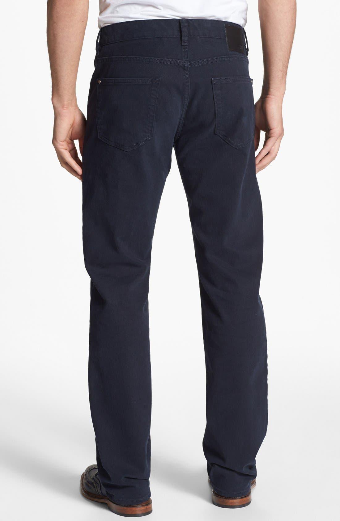 Alternate Image 2  - BOSS HUGO BOSS 'Kansas' Tonal Stripe Straight Leg Pants