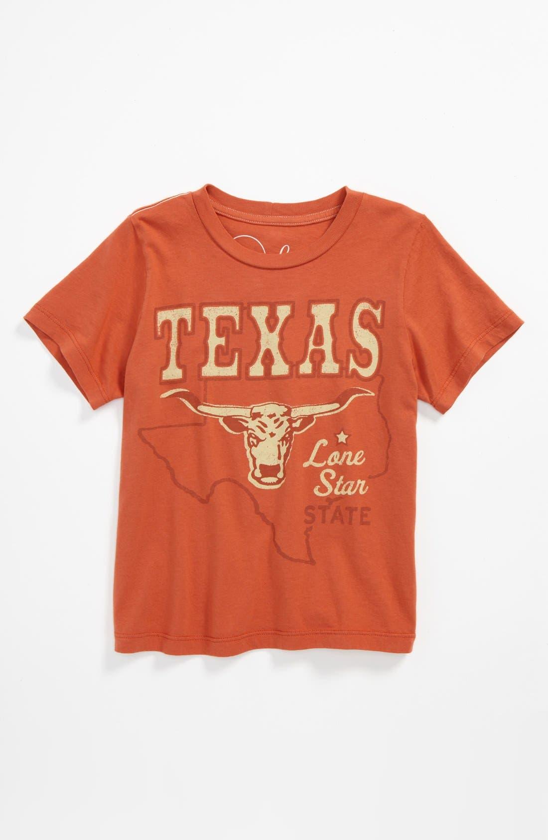Alternate Image 1 Selected - Peek 'Alamo' T-Shirt (Toddler Boys, Little Boys & Big Boys)