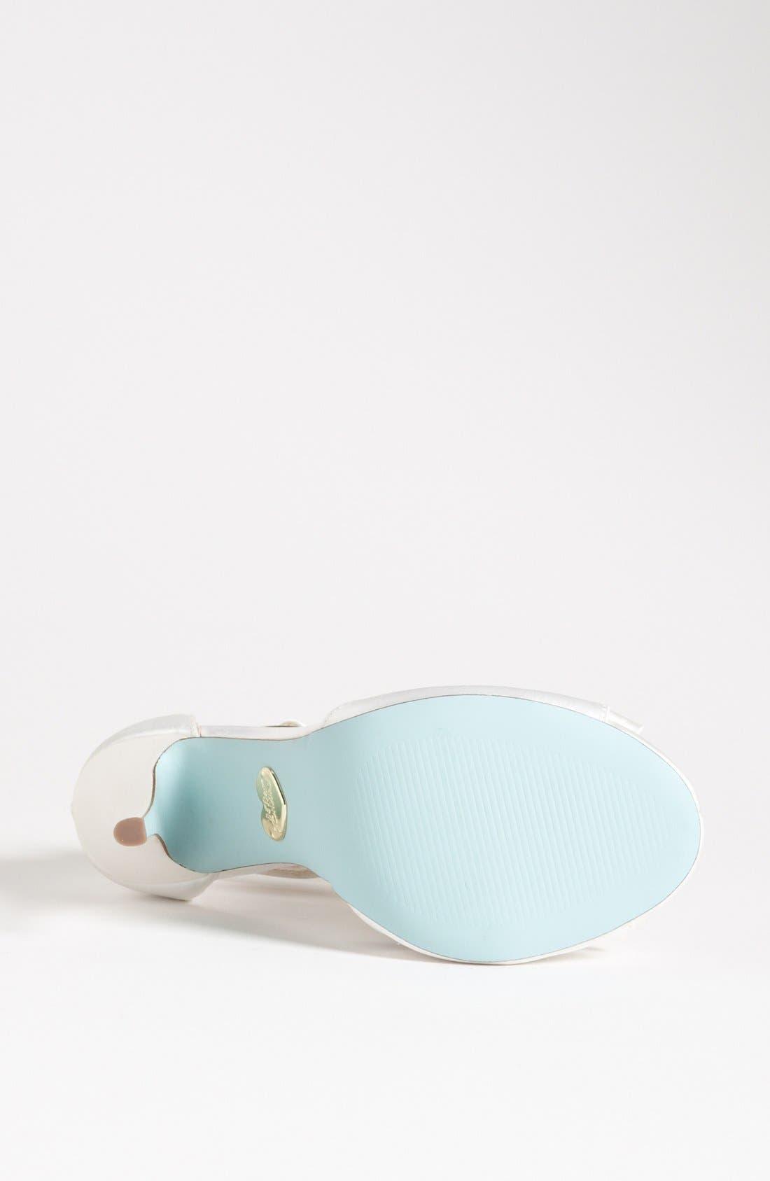 Alternate Image 4  - Blue by Betsey Johnson 'Knot' Sandal