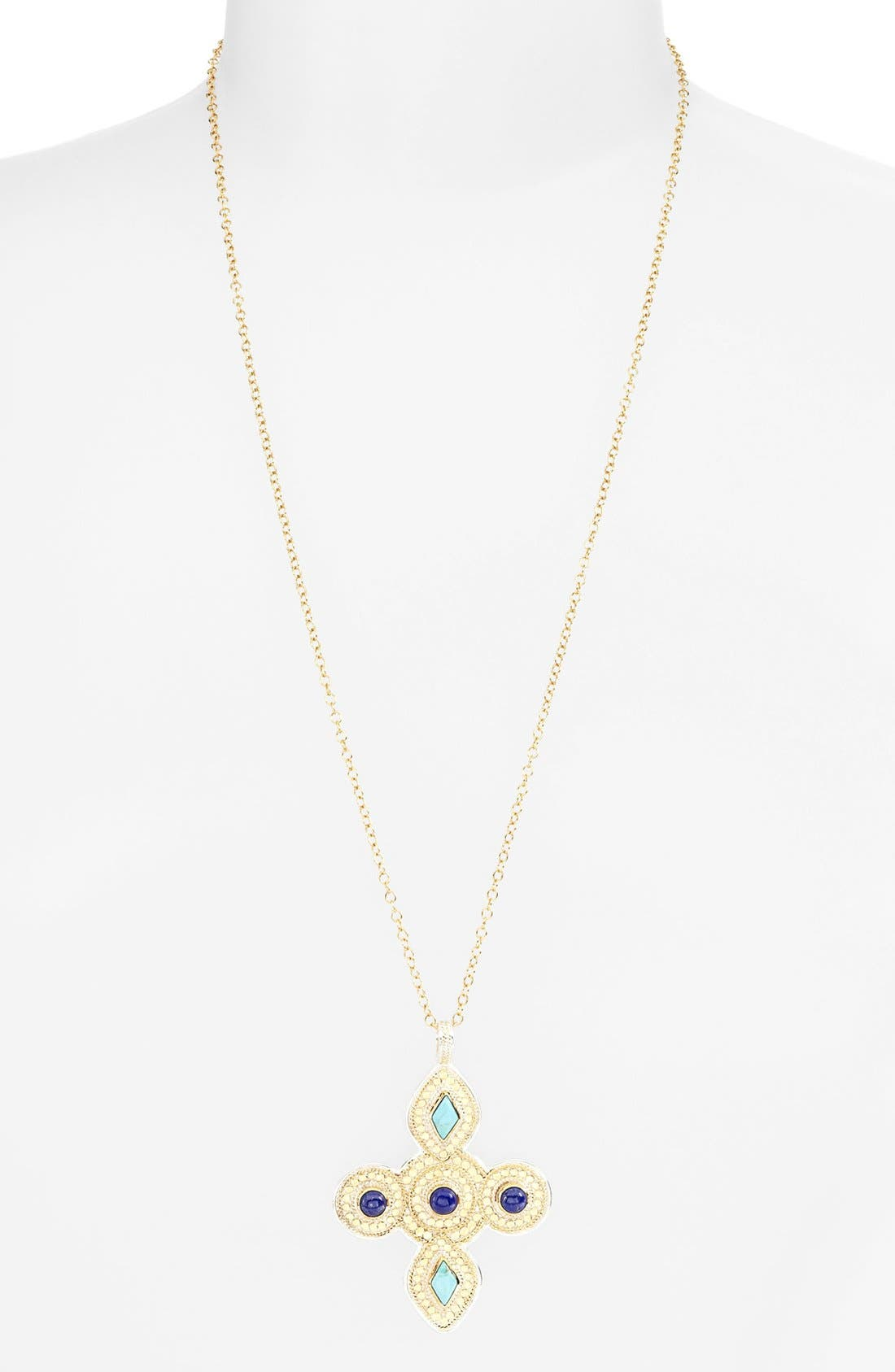 Main Image - Anna Beck 'Gili' Maltese Cross Pendant Necklace