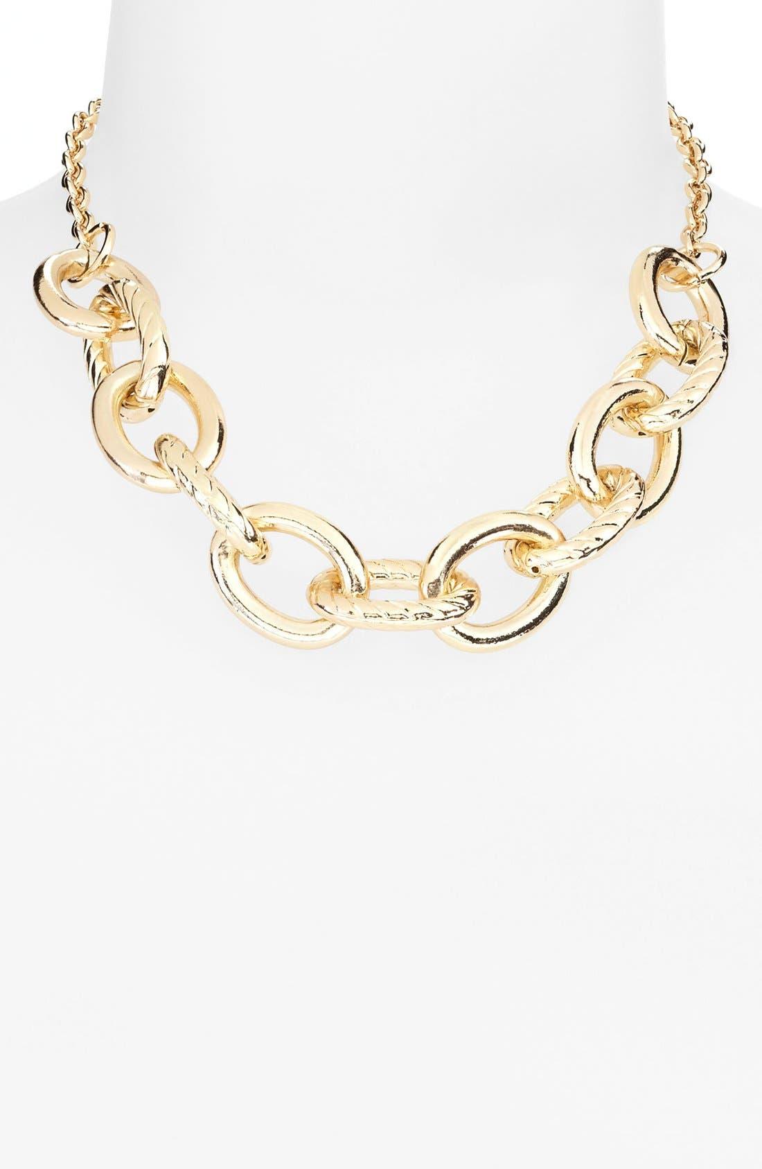 Alternate Image 1 Selected - Tasha 'Status' Link Frontal Necklace