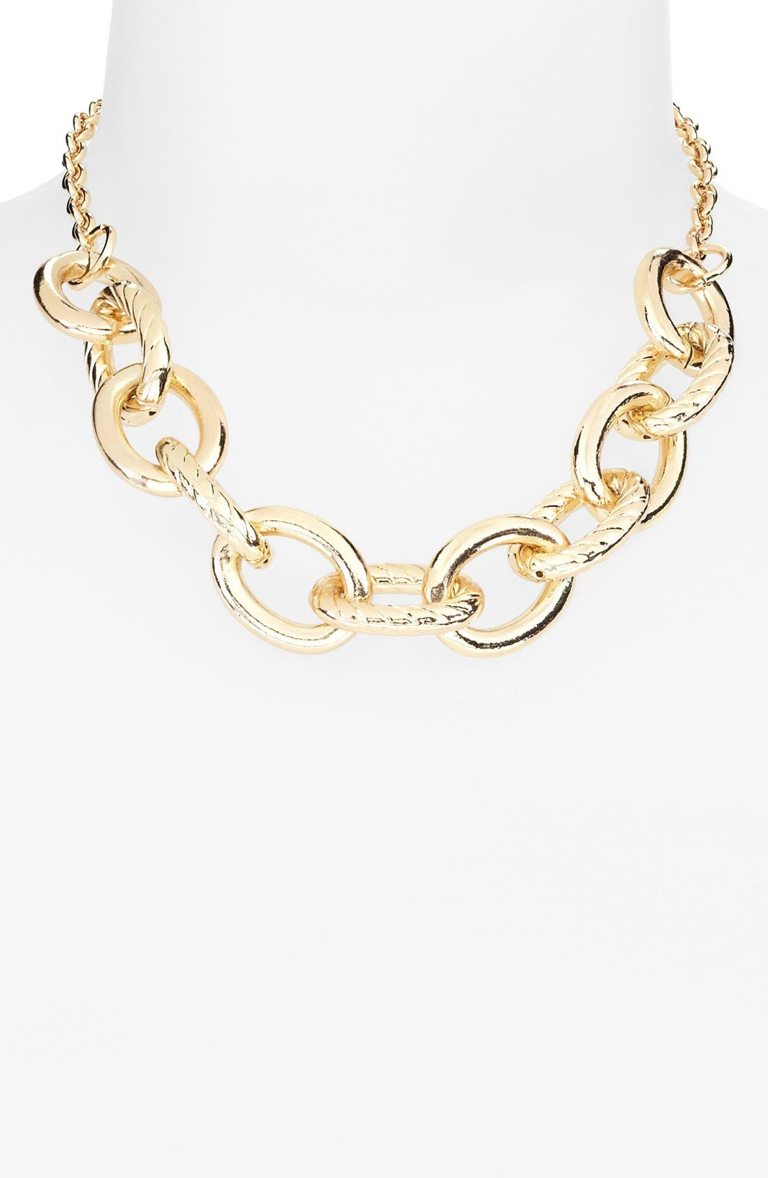 Main Image - Tasha 'Status' Link Frontal Necklace