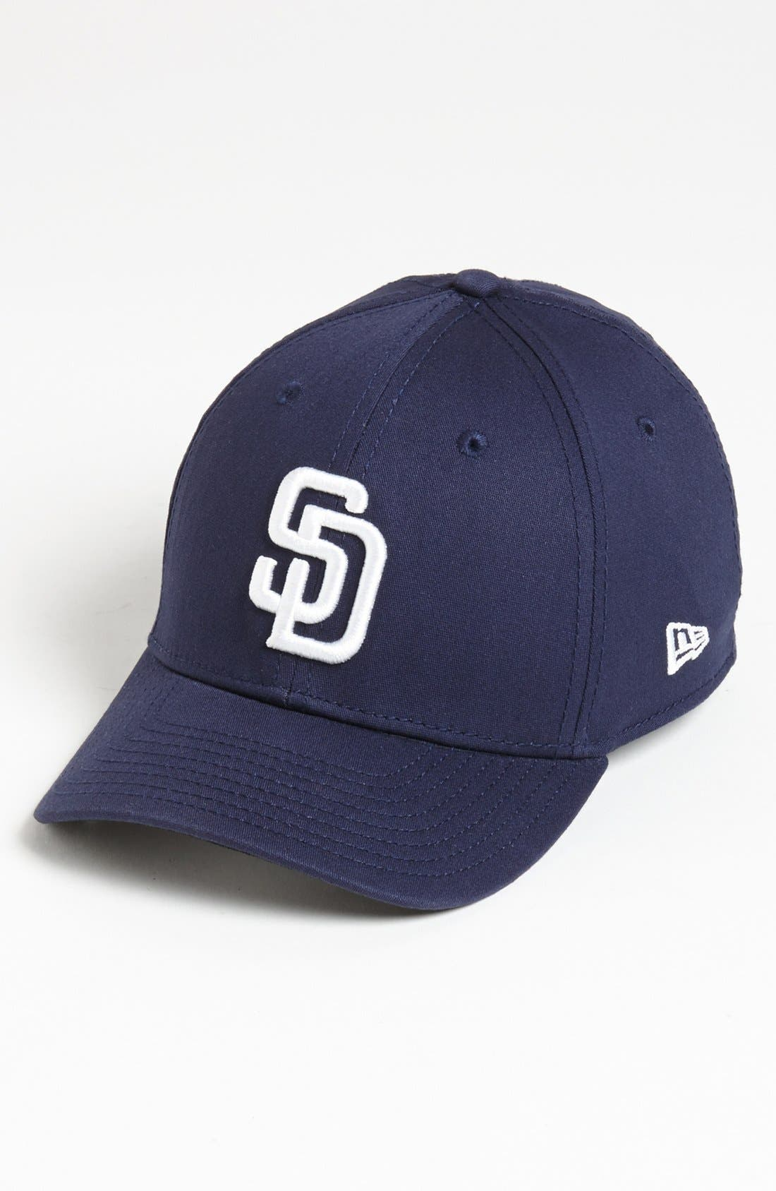 Alternate Image 1 Selected - New Era Cap 'San Diego Padres - Tie Breaker' Baseball Cap (Big Boys)