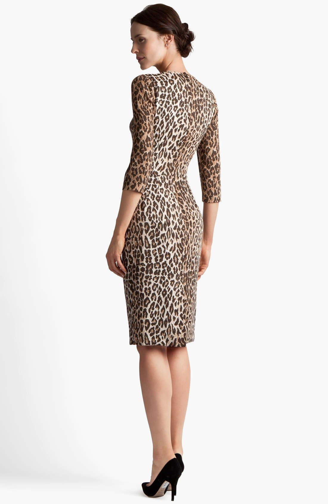 Alternate Image 2  - Dolce&Gabbana Leopard Print Dress