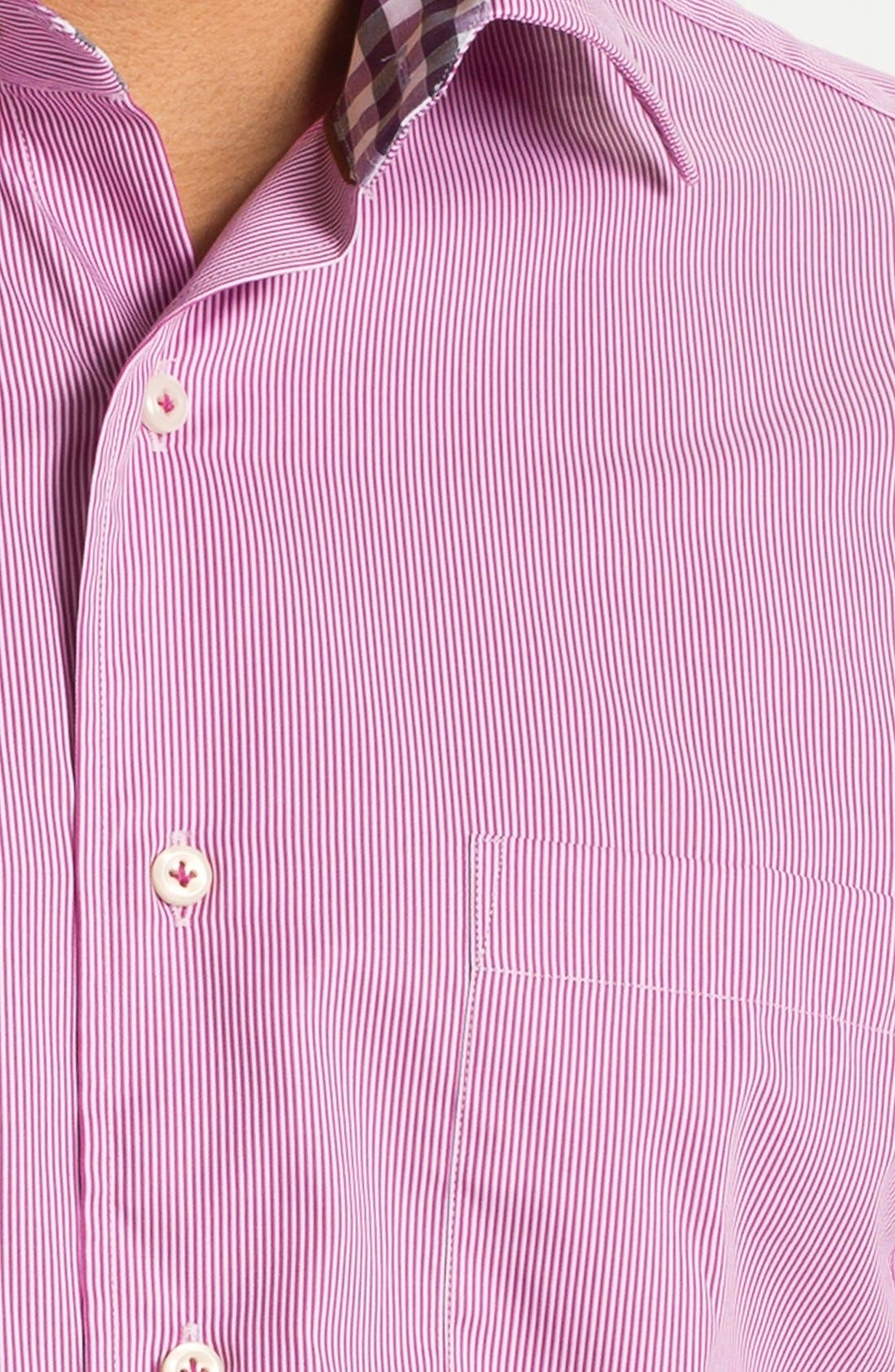 Alternate Image 3  - Peter Millar Regular Fit Sport Shirt (Tall)