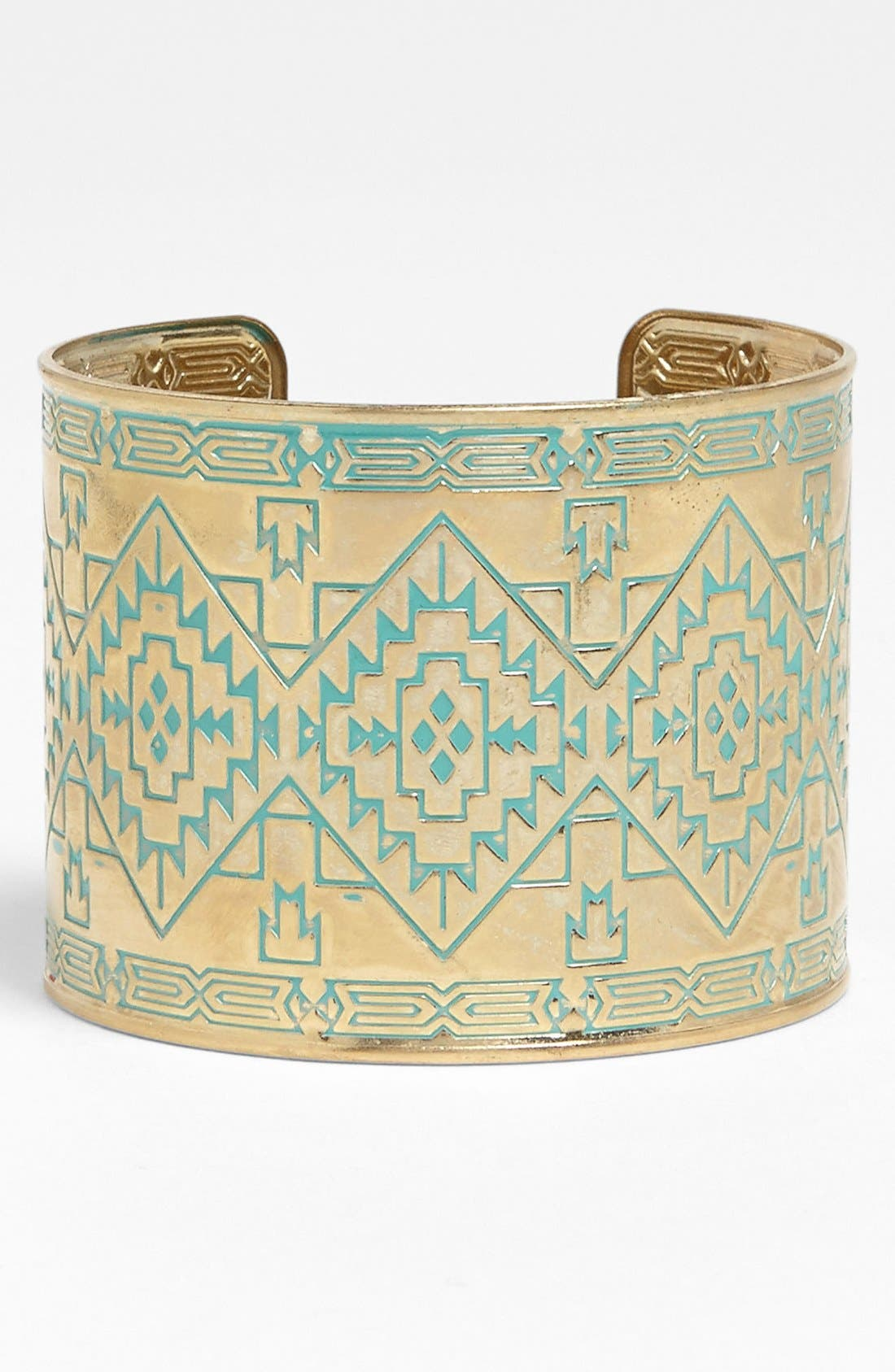 Alternate Image 1 Selected - Carole Geometric Cuff (Juniors)