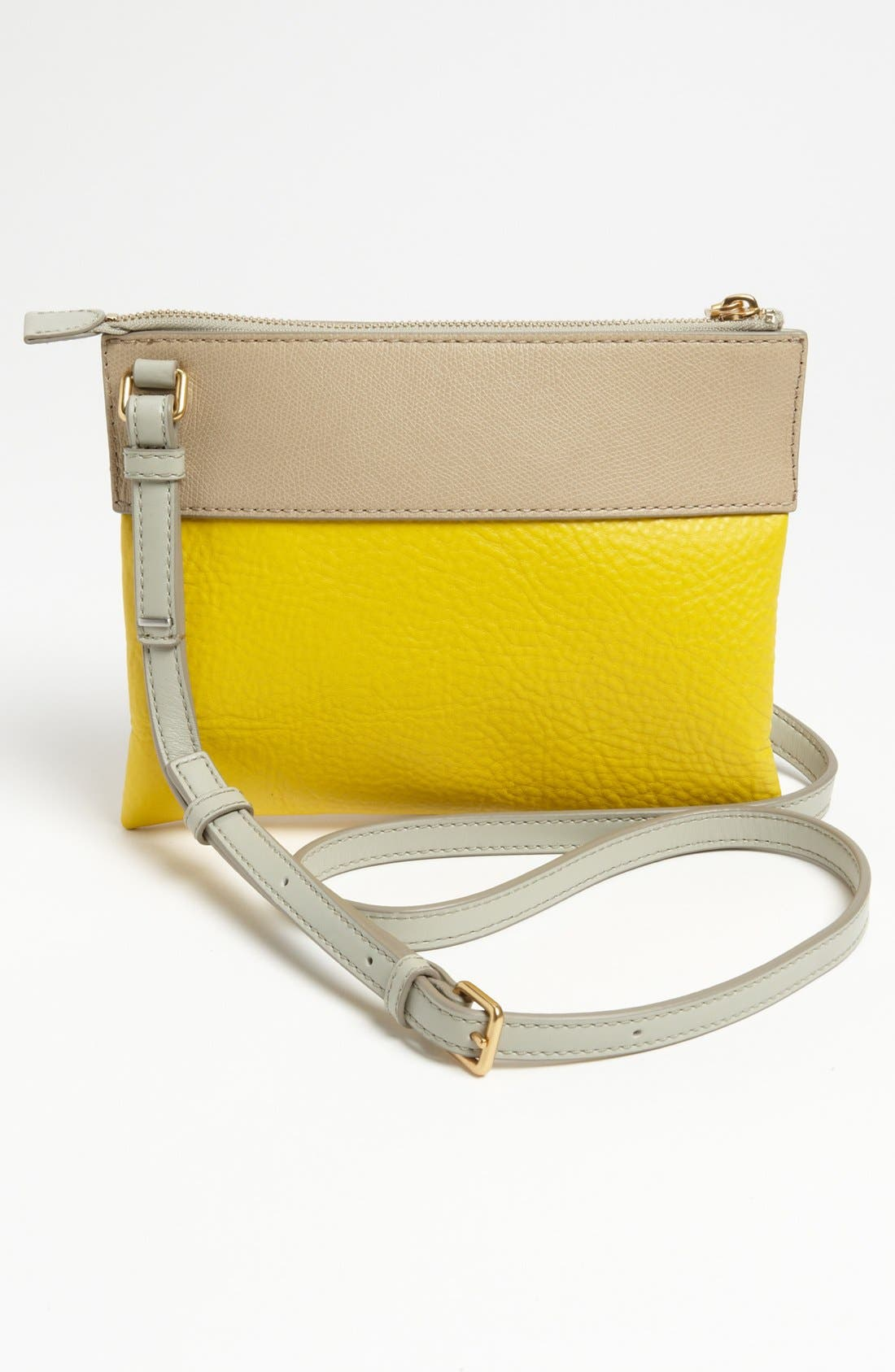 Alternate Image 4  - MARC BY MARC JACOBS 'Sheltered Island - Percy' Colorblock Leather Crossbody Bag, Small