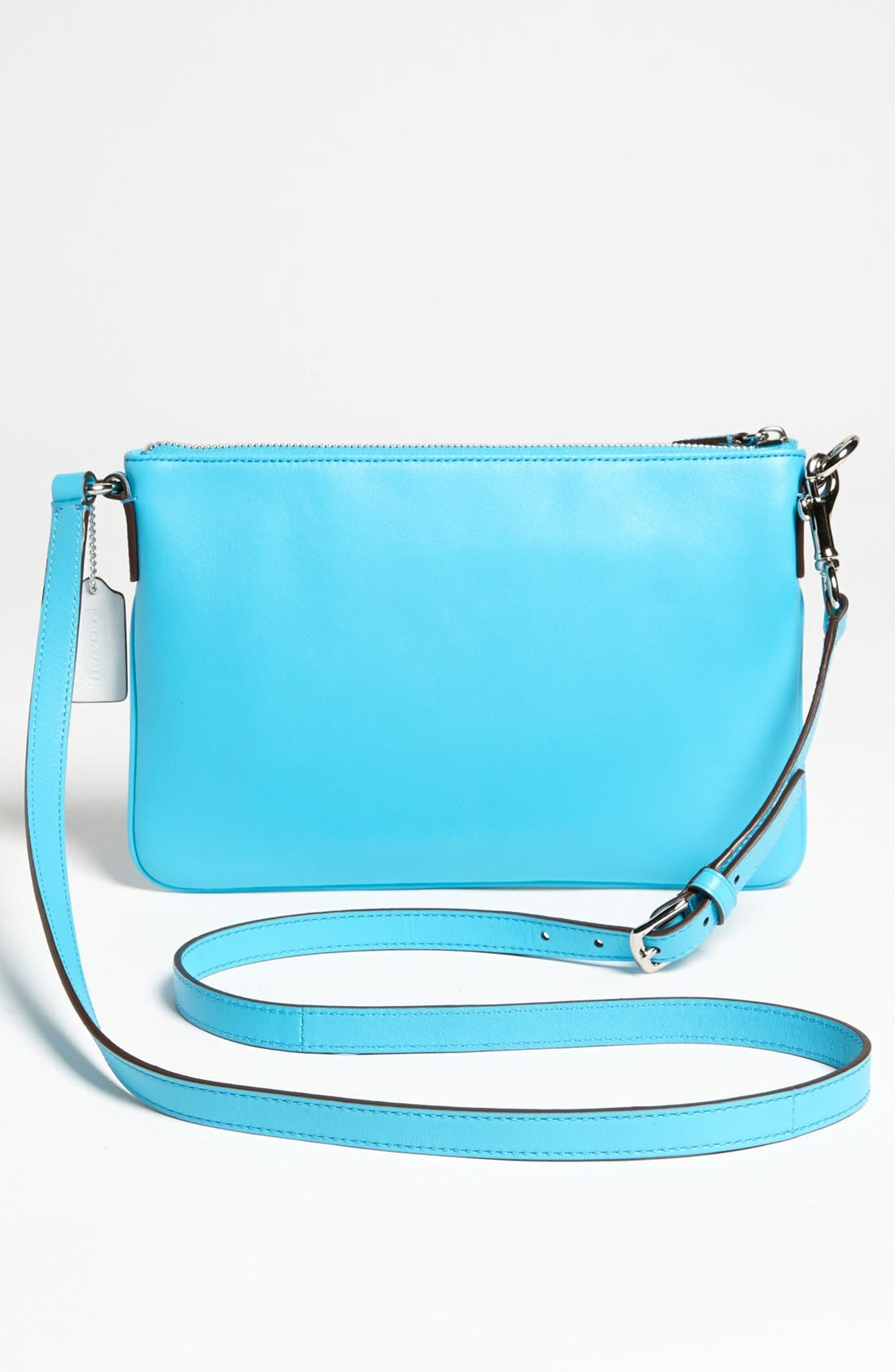 Alternate Image 4  - COACH 'Legacy - Swingpack' Perforated Leather Crossbody Bag, Small