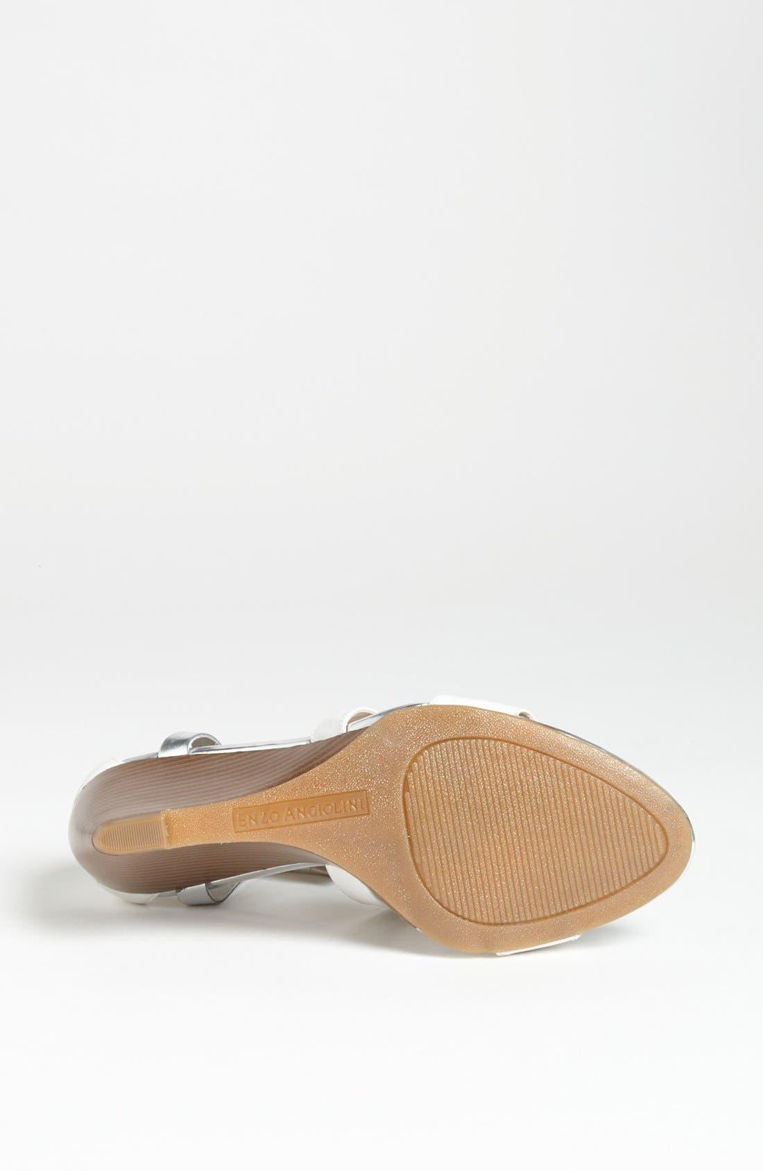 Alternate Image 4  - Enzo Angiolini 'McKinney' Wedge Sandal