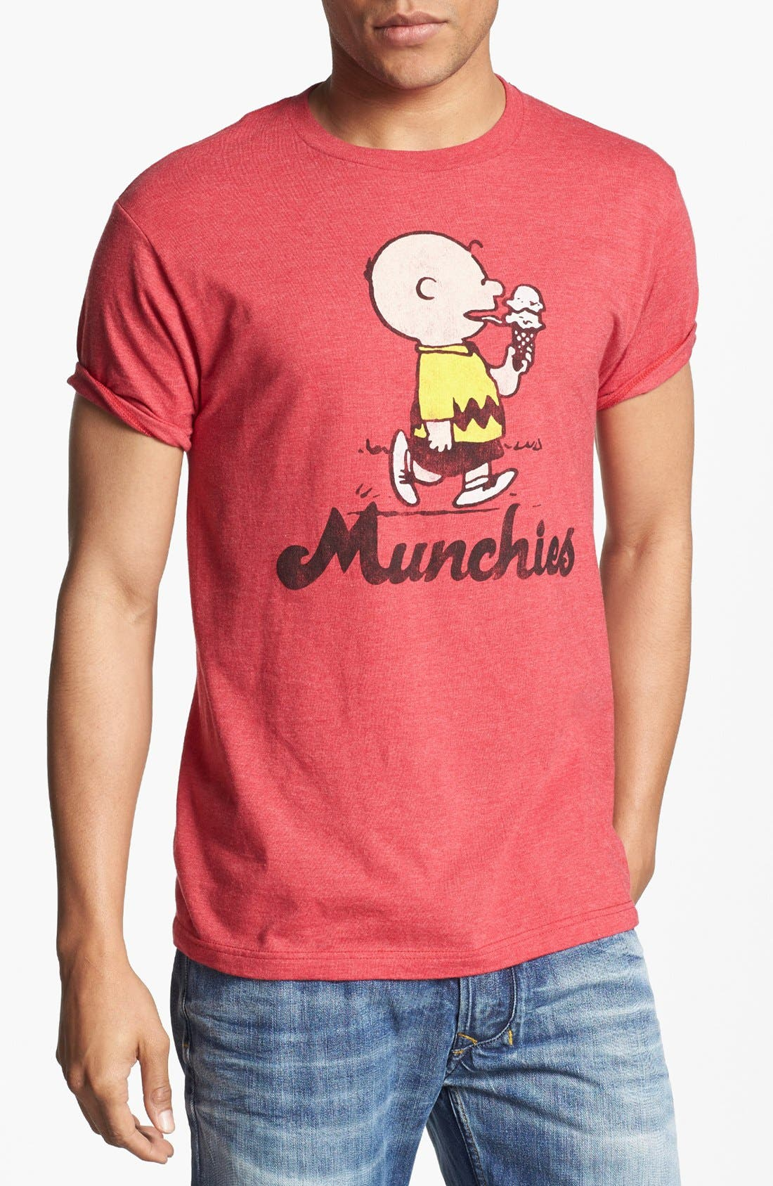 Alternate Image 1 Selected - Topless 'Munchies' Graphic T-Shirt