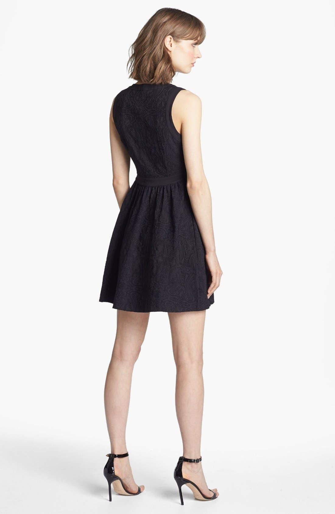 Alternate Image 2  - Juicy Couture Cloqué Dress