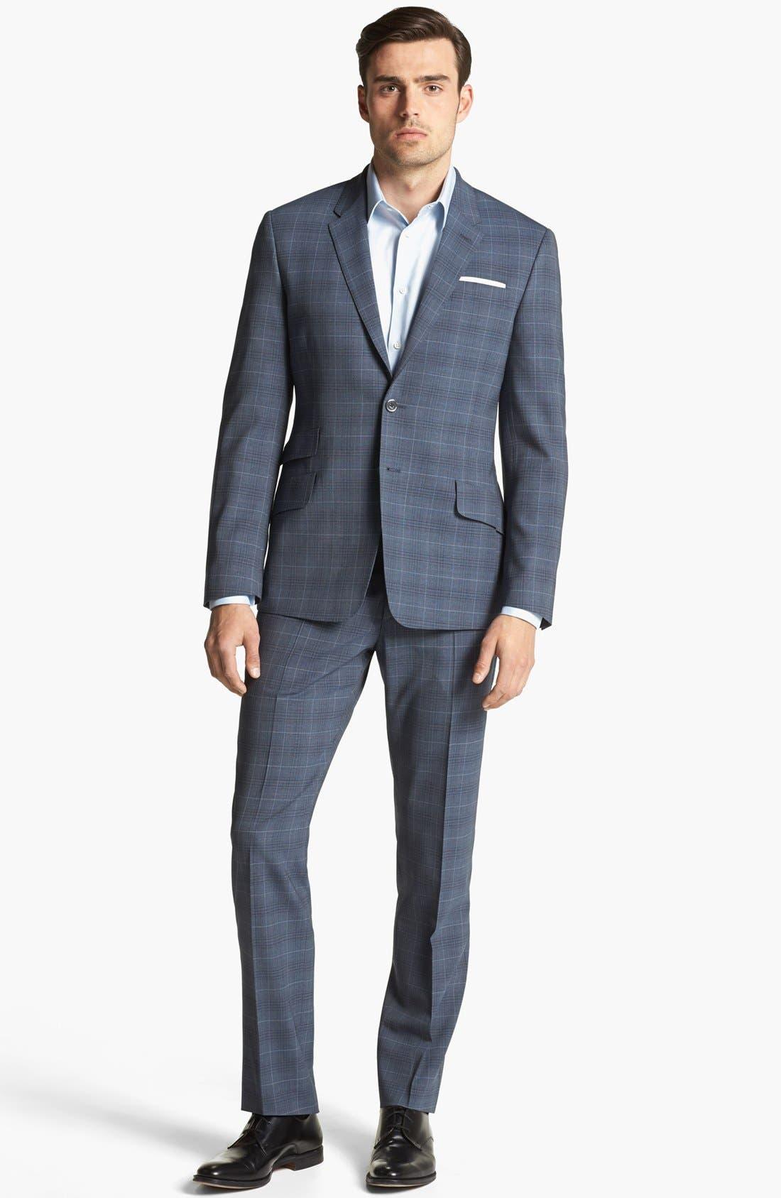 Alternate Image 2  - Paul Smith London Wool Plaid Suit