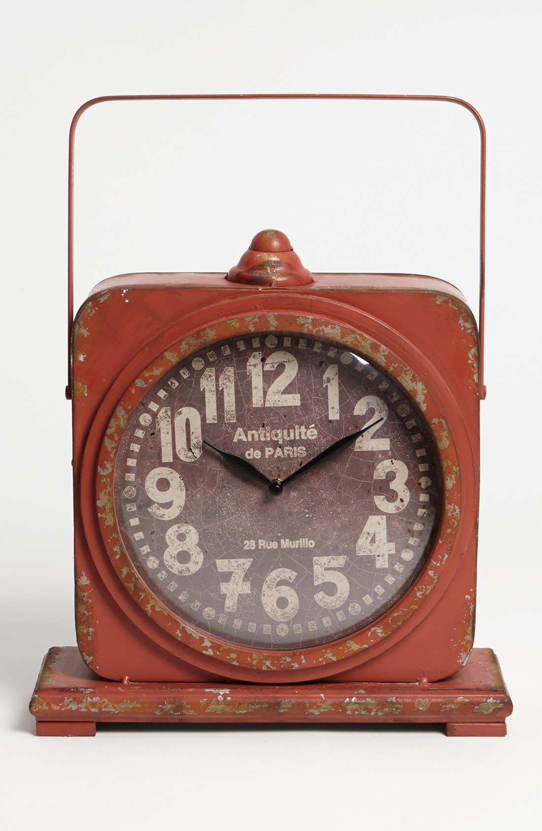 Main Image - Foreside Vintage Iron Mantel Clock