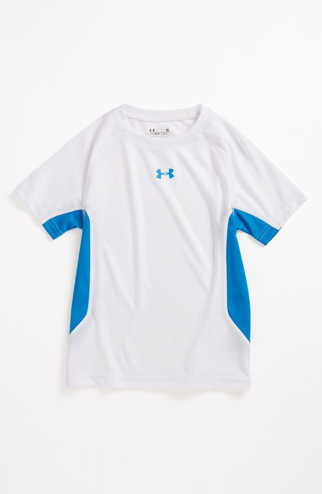Main Image - Under Armour 'Scrimmage' HeatGear® T-Shirt (Toddler Boys)