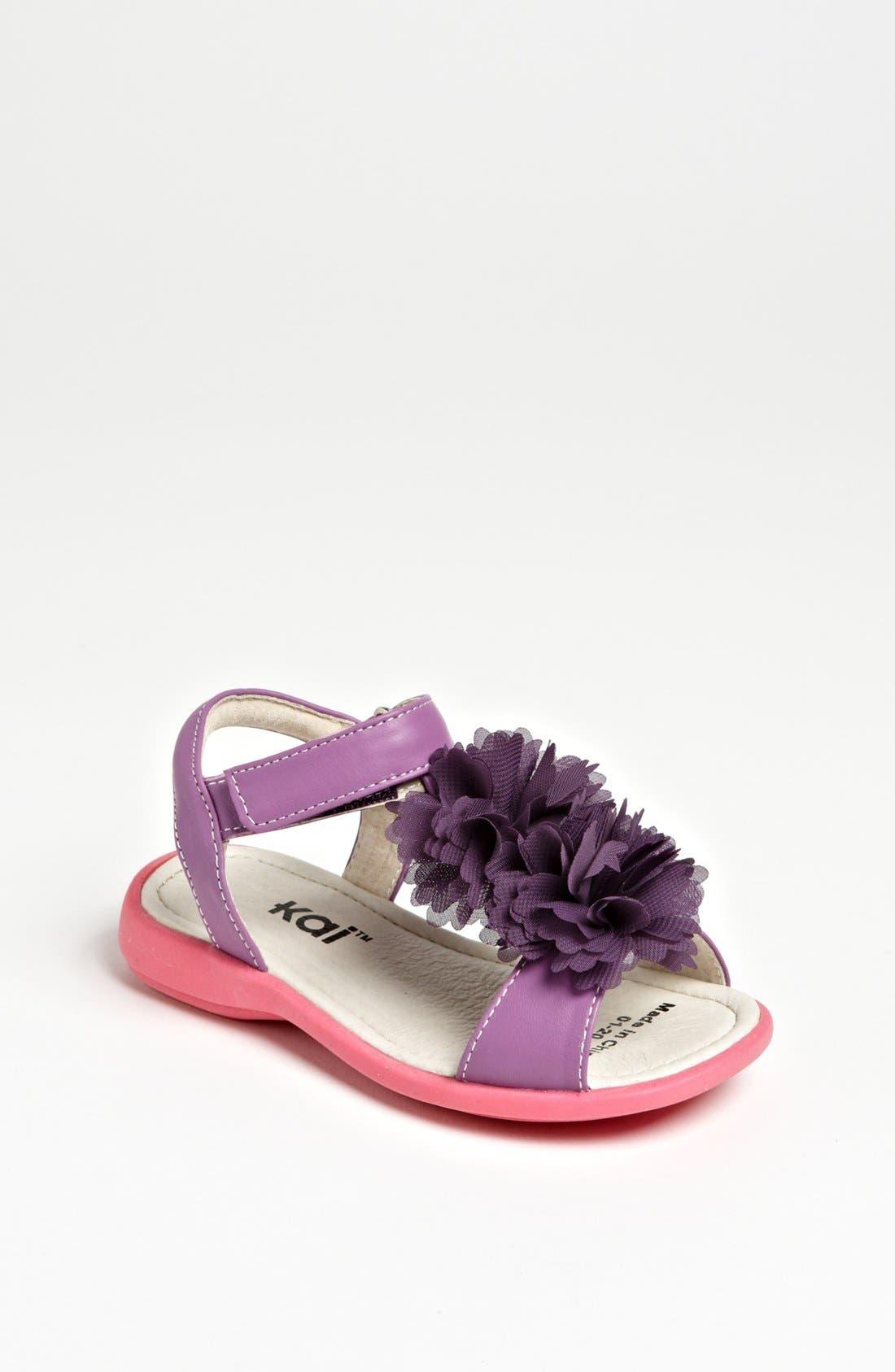 Alternate Image 1 Selected - See Kai Run 'Genevieve Blossom' Sandal (Toddler & Little Kid)