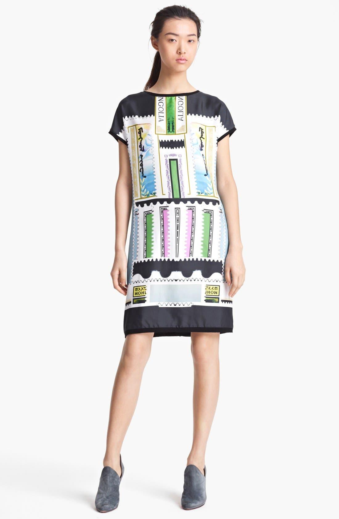 Alternate Image 1 Selected - Mary Katrantzou Silk & Cotton Dress