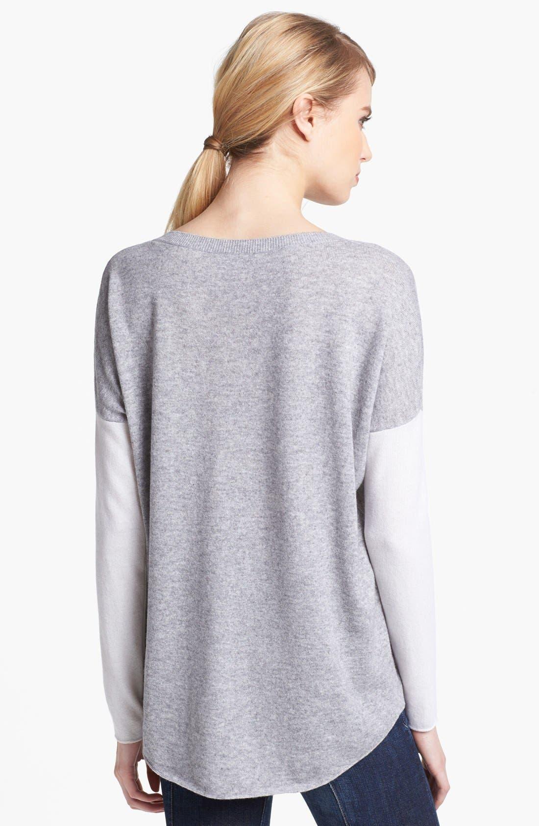 Alternate Image 2  - Vince Colorblock Crewneck Sweater
