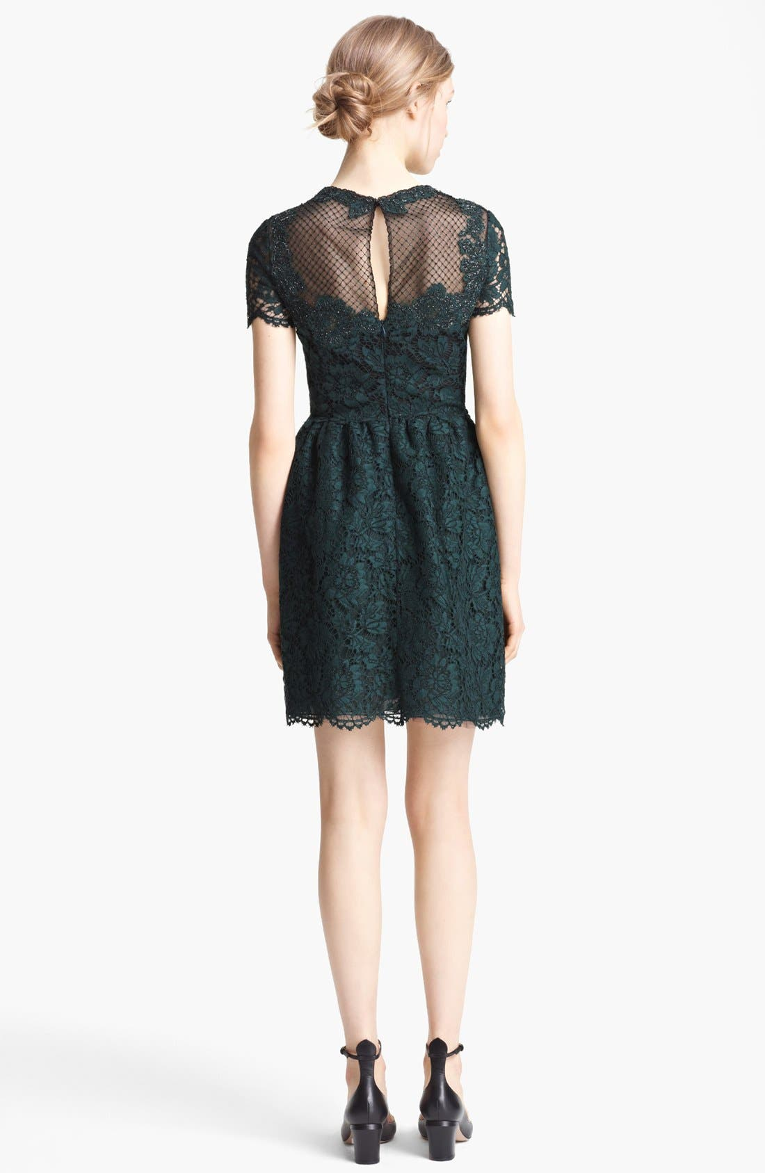 Alternate Image 2  - Valentino Embroidered Lace Dress