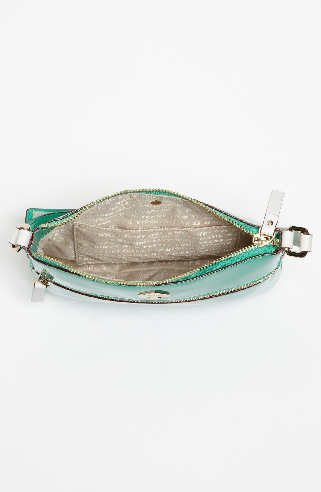 Alternate Image 3  - kate spade new york 'flicker - tenley' patent crossbody bag