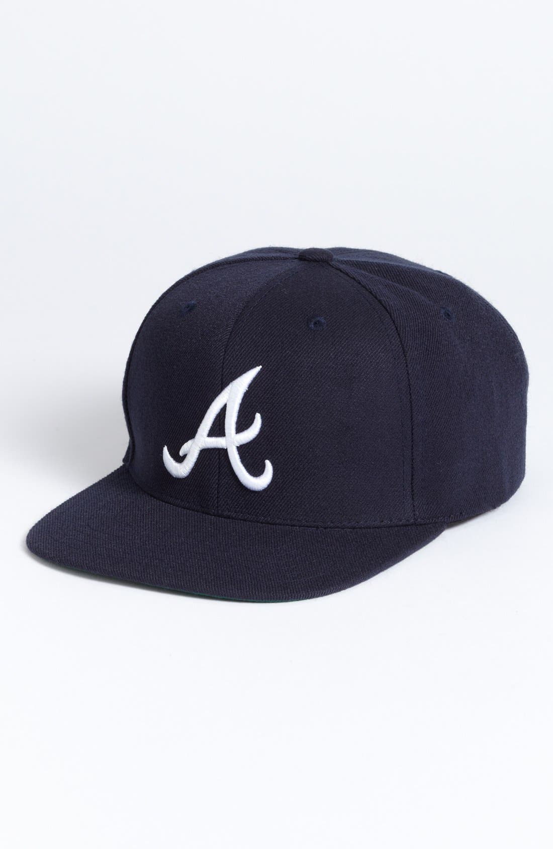 Alternate Image 1 Selected - American Needle 'Atlanta Braves - 400 Series' Snapback Baseball Cap