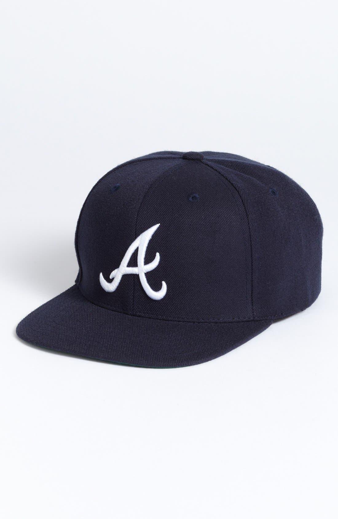 Main Image - American Needle 'Atlanta Braves - 400 Series' Snapback Baseball Cap