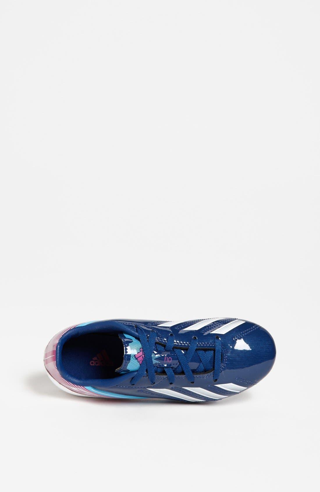Alternate Image 3  - adidas 'F10 TRX FG' Soccer Cleats (Toddler, Little Kid & Big Kid)