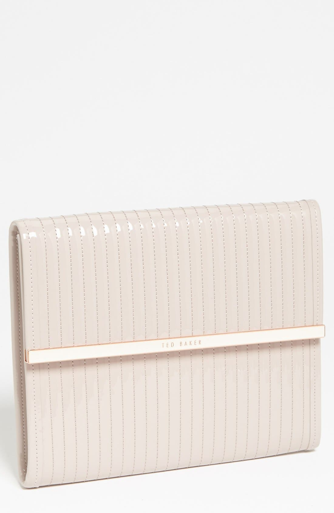 Alternate Image 1 Selected - Ted Baker London Quilted iPad Sleeve