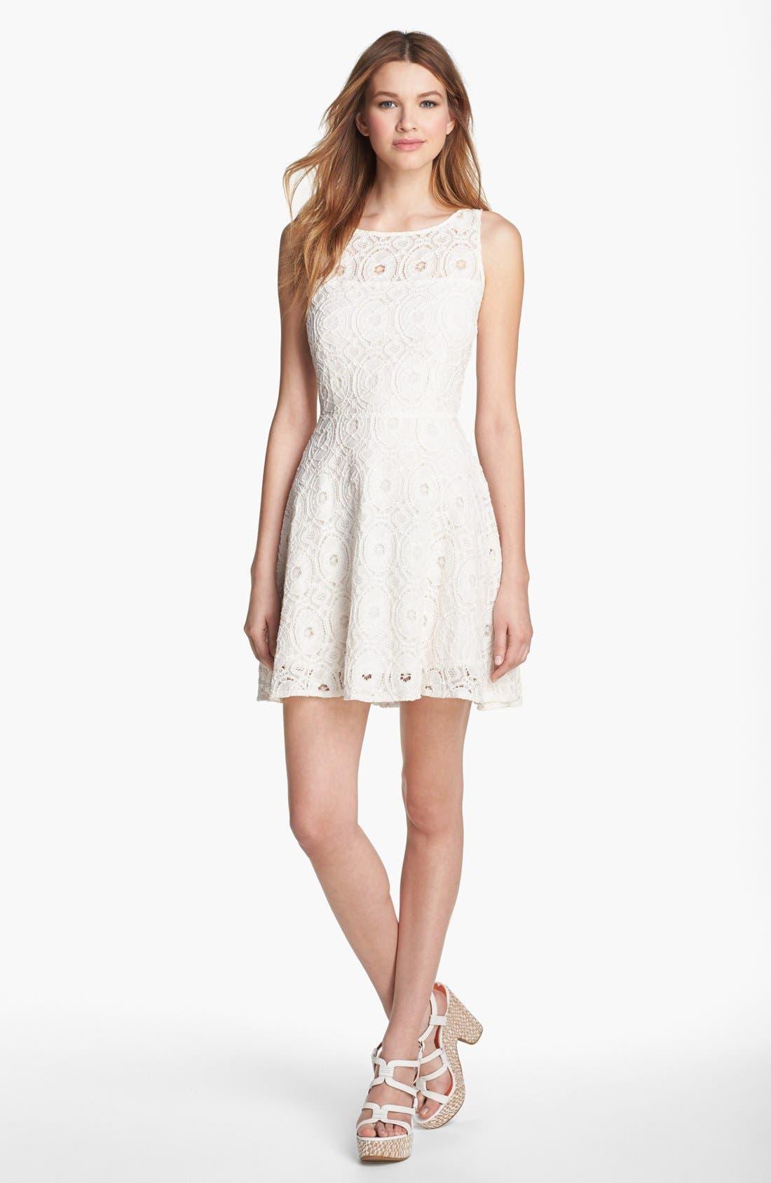 Main Image - BB Dakota Fit & Flare Dress
