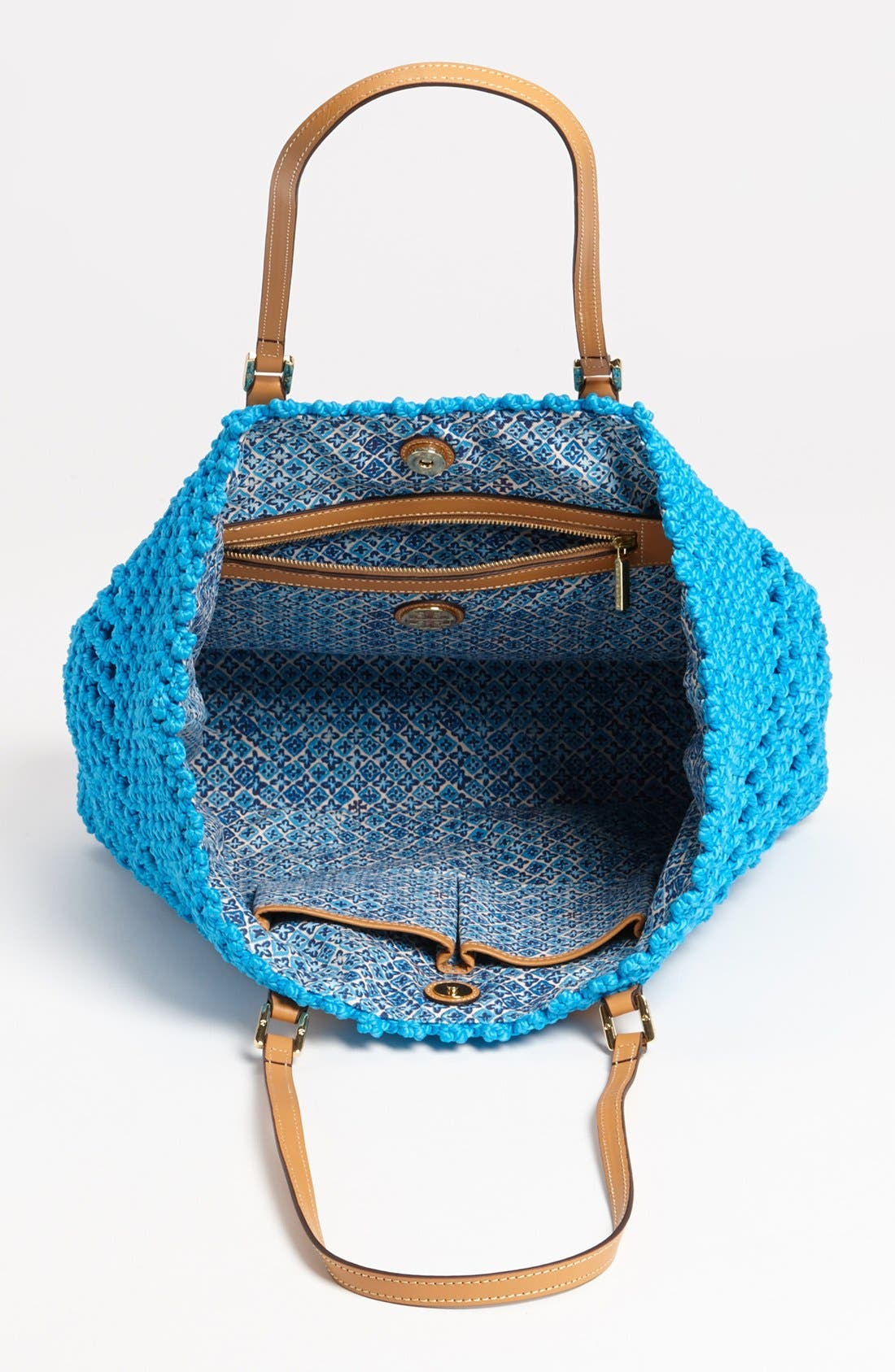 Alternate Image 3  - Tory Burch 'Dawson - Large' Crocheted Tote