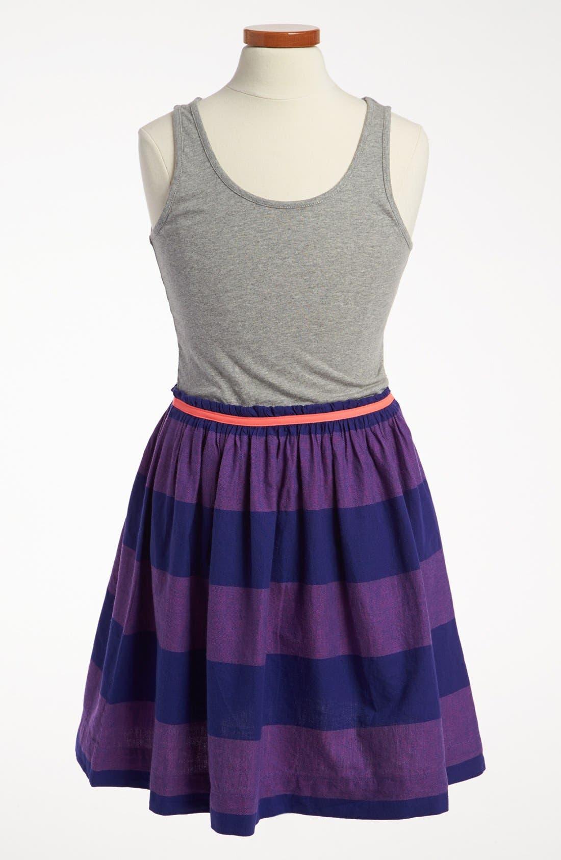 Alternate Image 1 Selected - Johnnie b 'Vest' Dress (Big Girls)