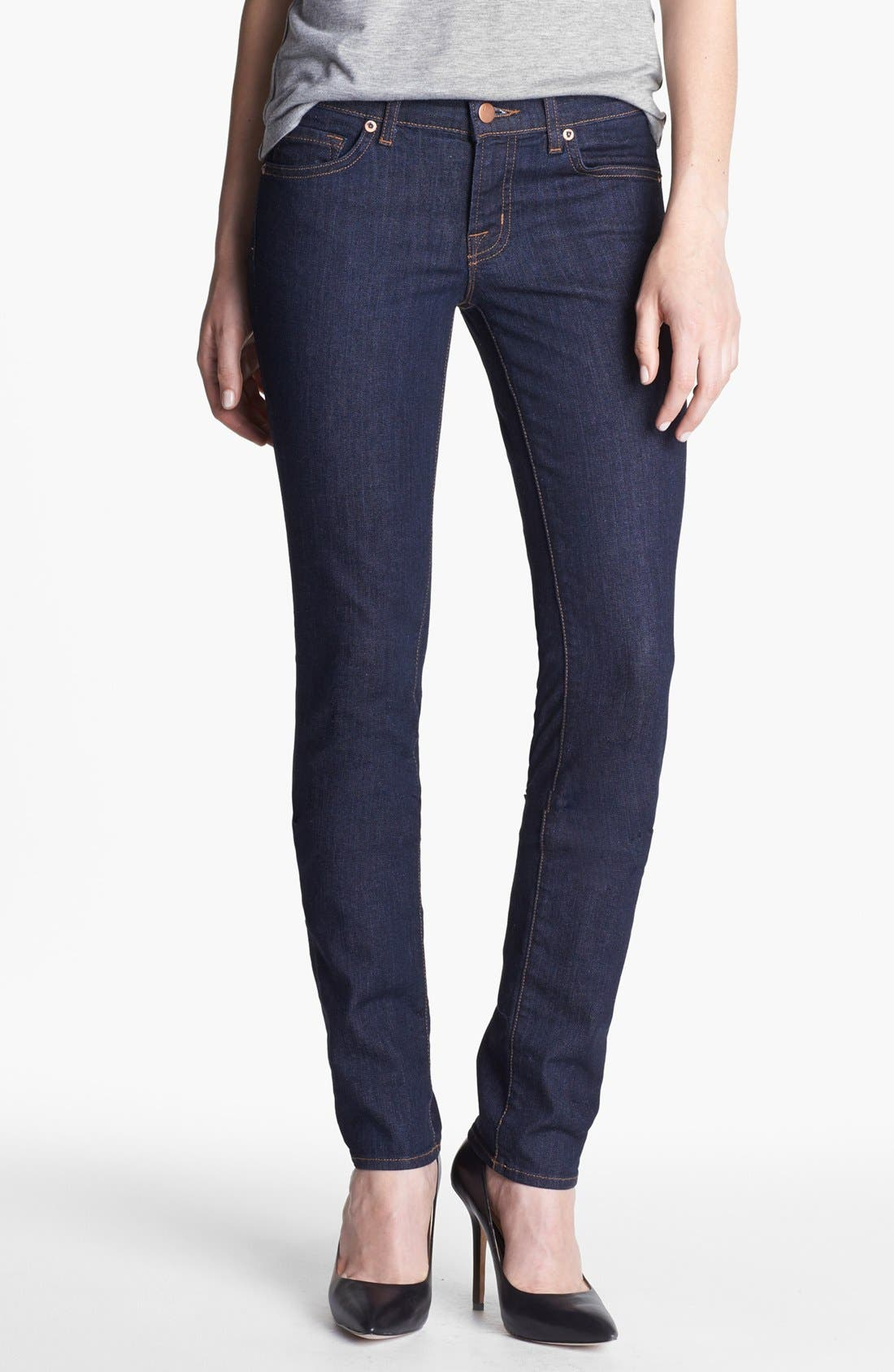 Alternate Image 1 Selected - J Brand Skinny Stretch Jeans (Pure Wash)